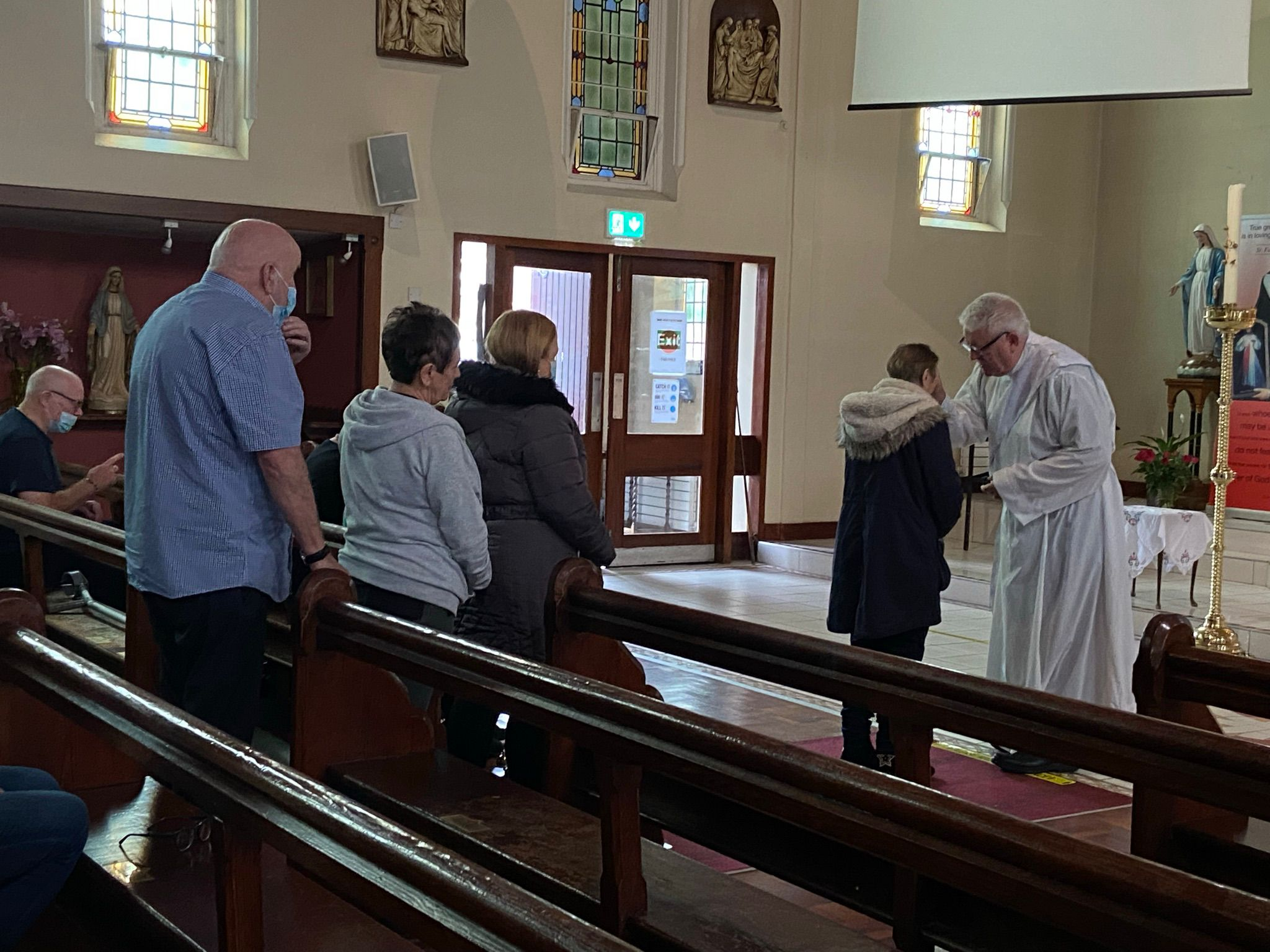 RETURN: The Divine Mercy Prayer Group are meeting once again in Sacred Heart Church