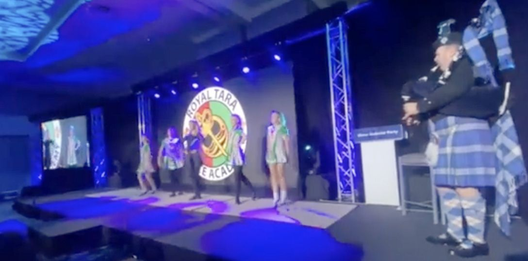 Irish dancing at the UUP annual conference