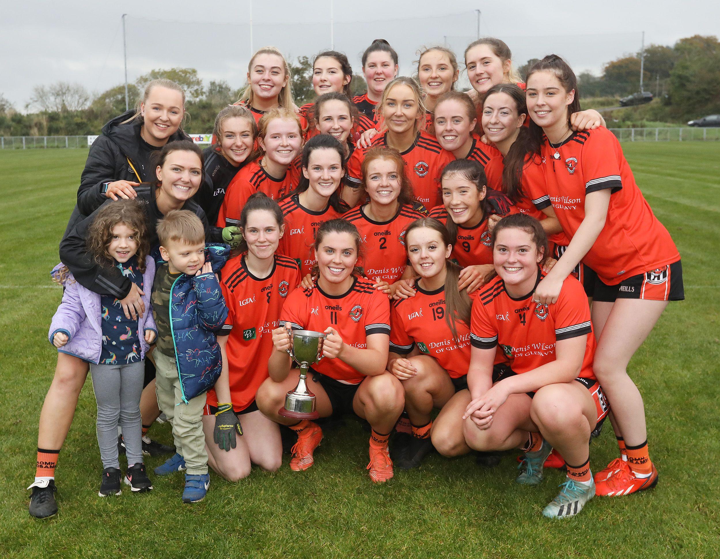 McLaughlin inspires Glenavy to Antrim Junior Ladies title against St John's