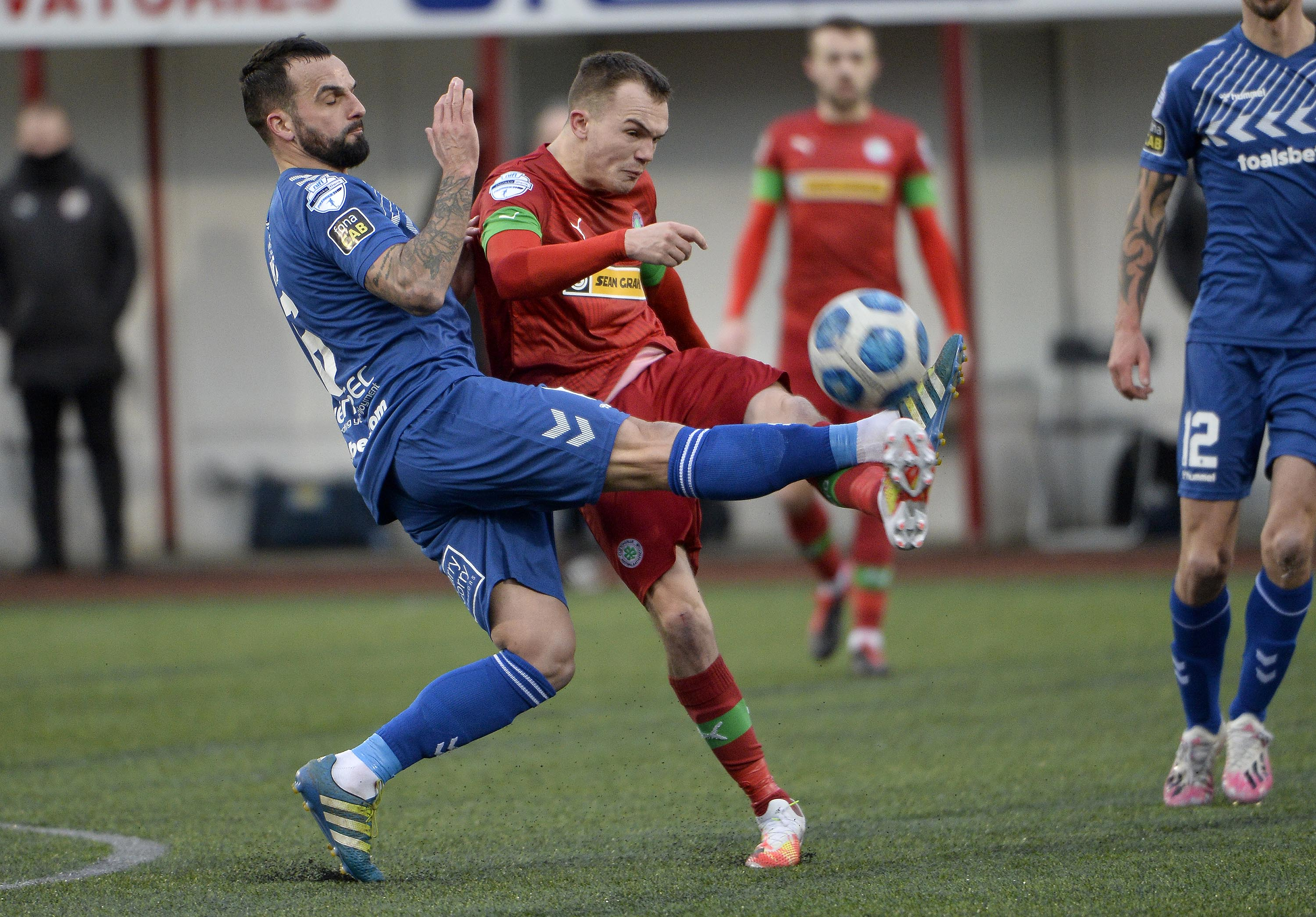 Rory Hale gave Cliftonville an early lead on Tuesday