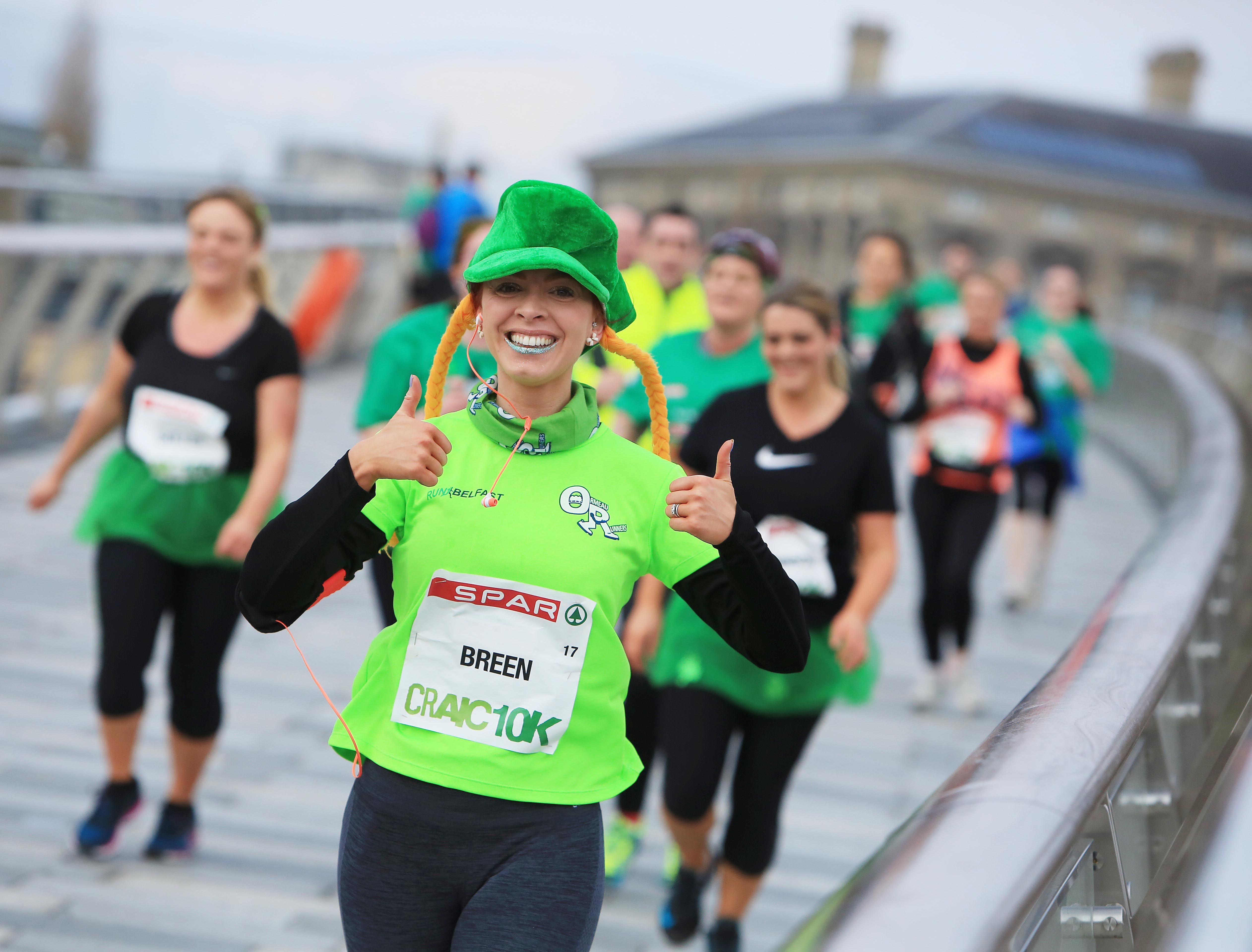 JOIN THE GLOBAL EVENT: You too could look the part on St Patrick's Day next month