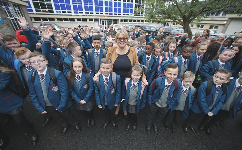 WARM WELCOME: All Saints is a new school committed to ensuring the success of all its pupils
