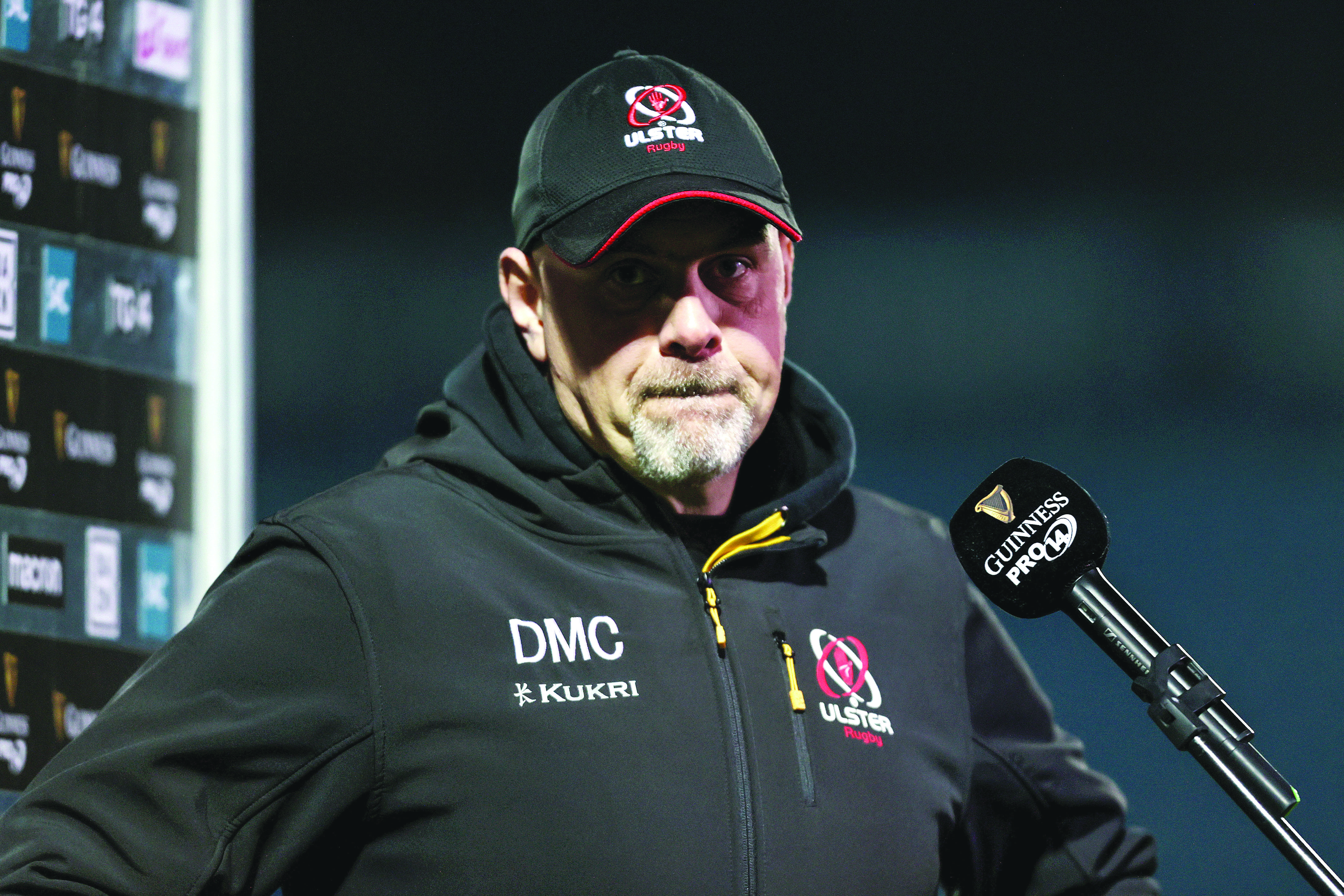 Dan McFarland says there is no margin for error over the remaining five games if his team hope to secure top spot in Conference A and a place in the PRO14 final