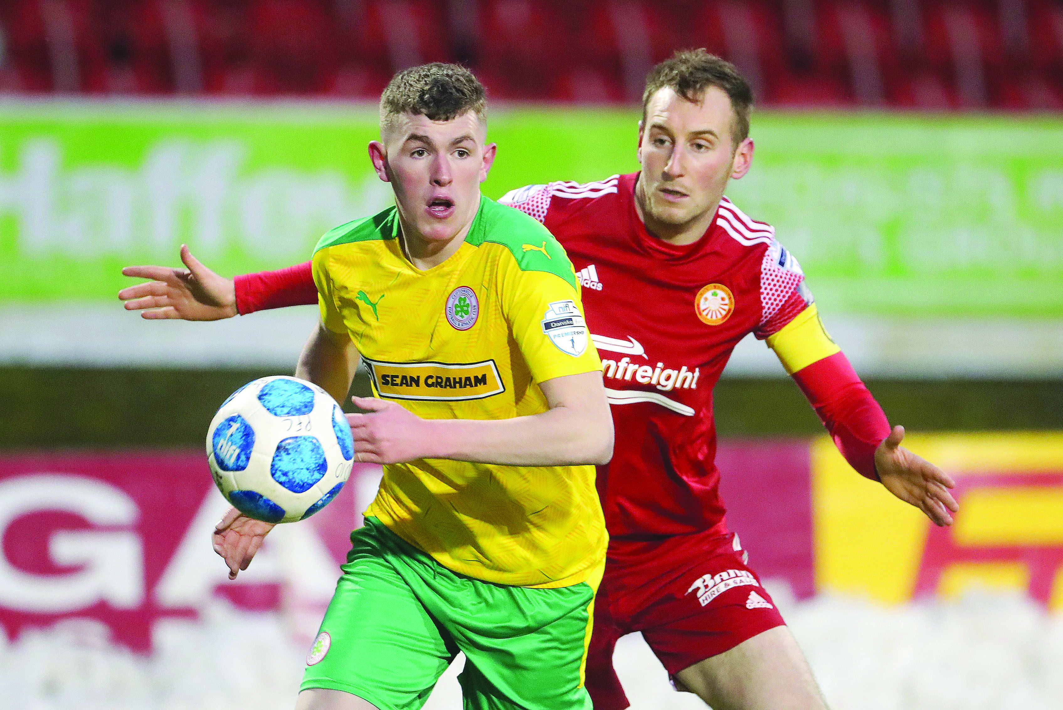 Cliftonville manager Paddy McLaughlin was disappointed his side dropped points late-on against Portadown on Saturday