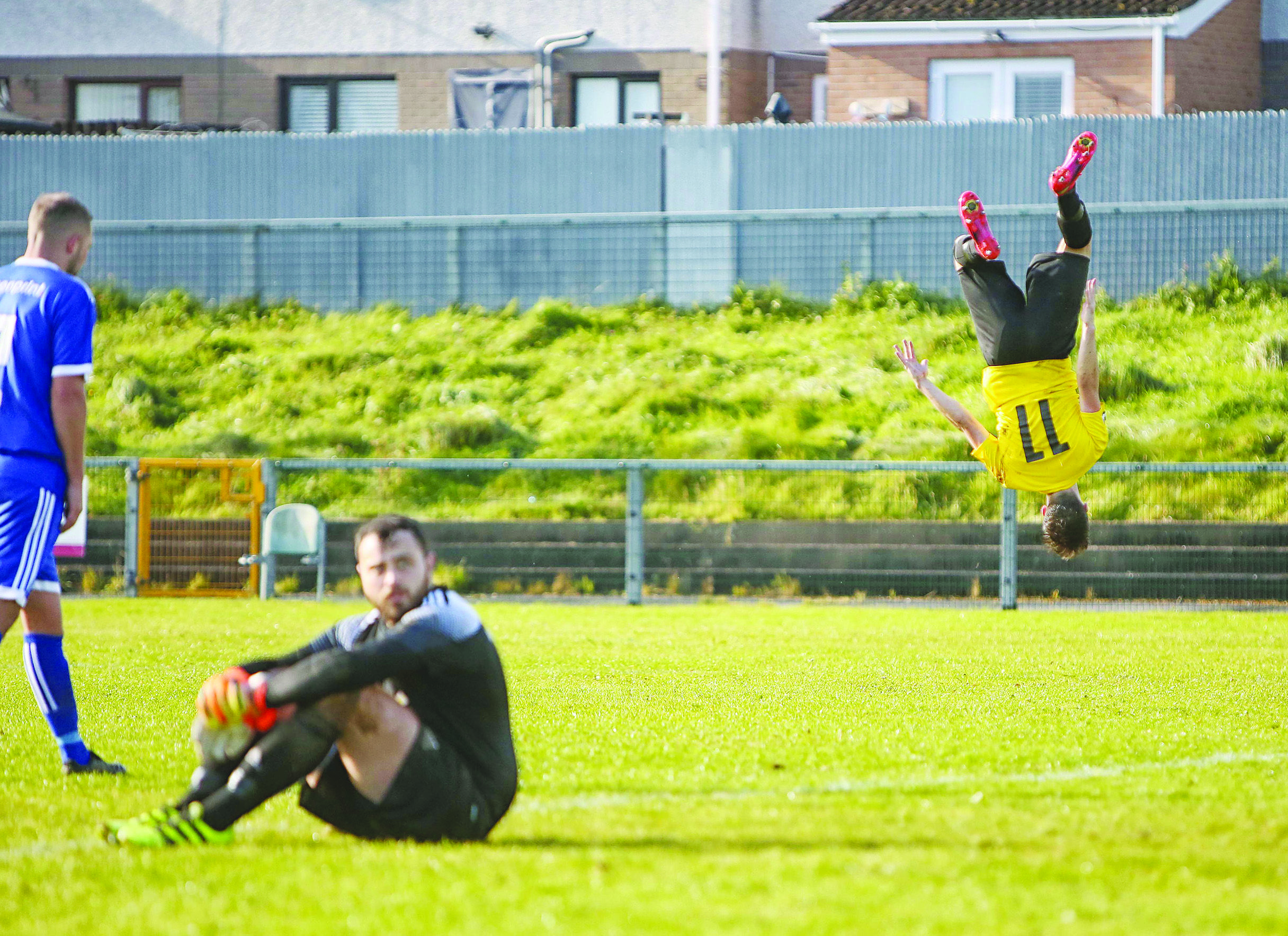 St James\' Swifts would have been among the front-runners to celebrate winning the Ballymena League, but its cancellation could put a barrier between them and promotion