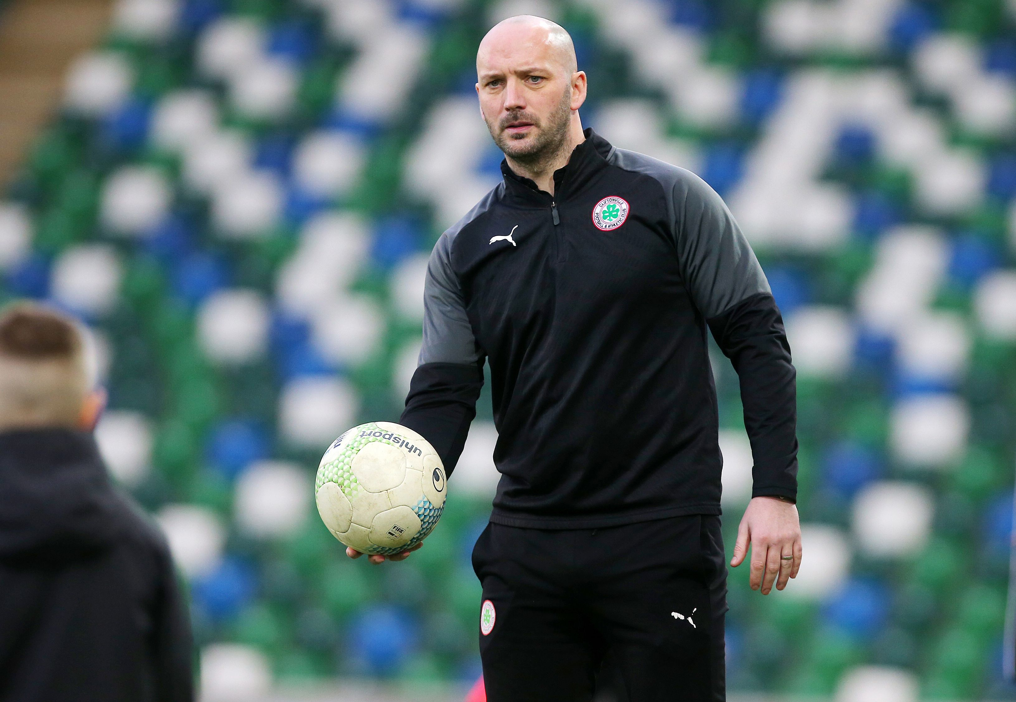 Cliftonville manager Paddy McLaughlin admits the hectic run of games has proved a huge test for his players