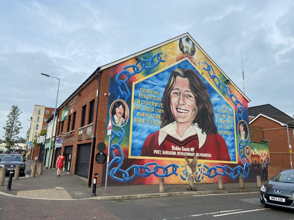 WARNING: Sinn Féin centre at Sevastopol Street