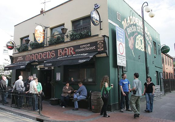CONVERSATION: A chance meeting in Maddens threw up some interesting pub information