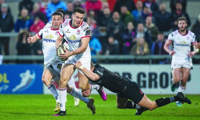 Jacob Stockdale returns to the Ulster line-up for Friday's PRO14 game against Ospreys