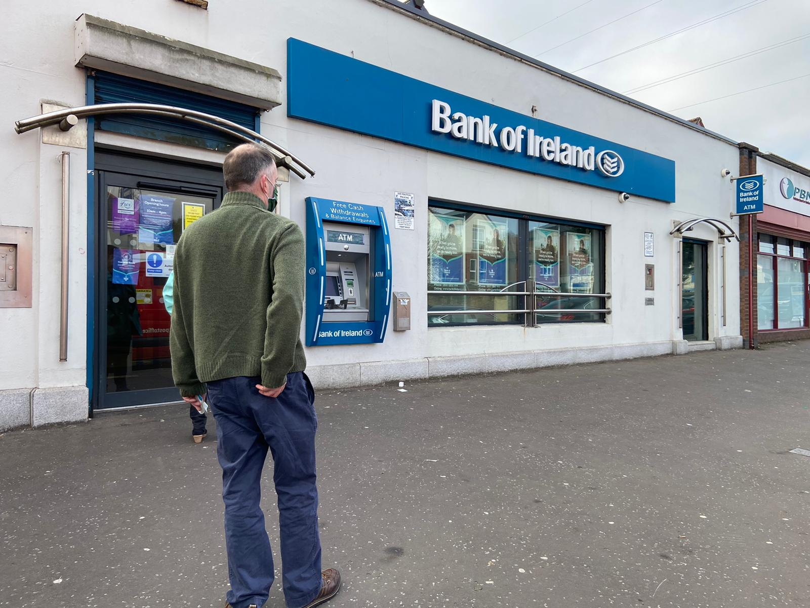 WITHDRAWN: The Bank of Ireland\'s Andersonstown branch will remain open