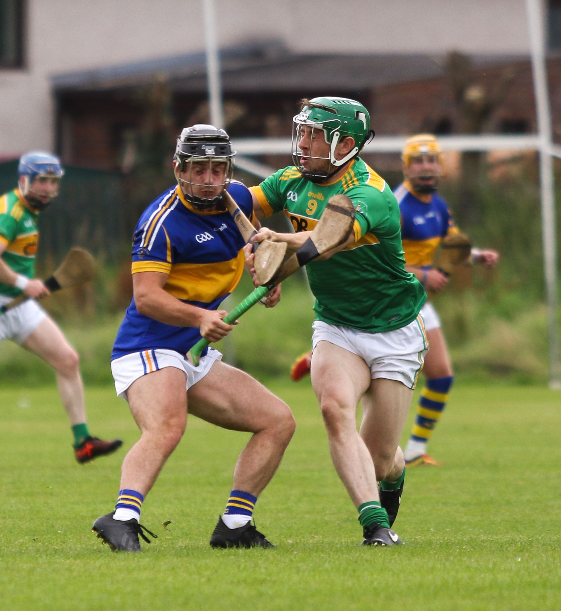 Dunloy and Rossa played out two thrilling battles in 2020