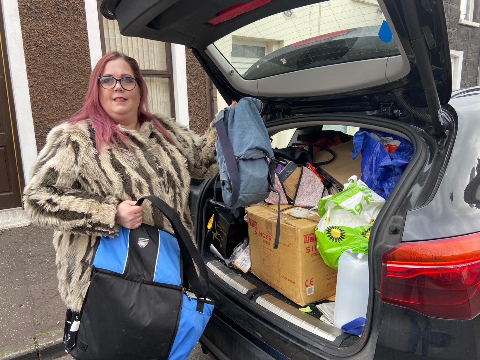 MOVED OUT: Jenni Millar was forced to pack up and leave her Spamount Street home due to its poor living conditions