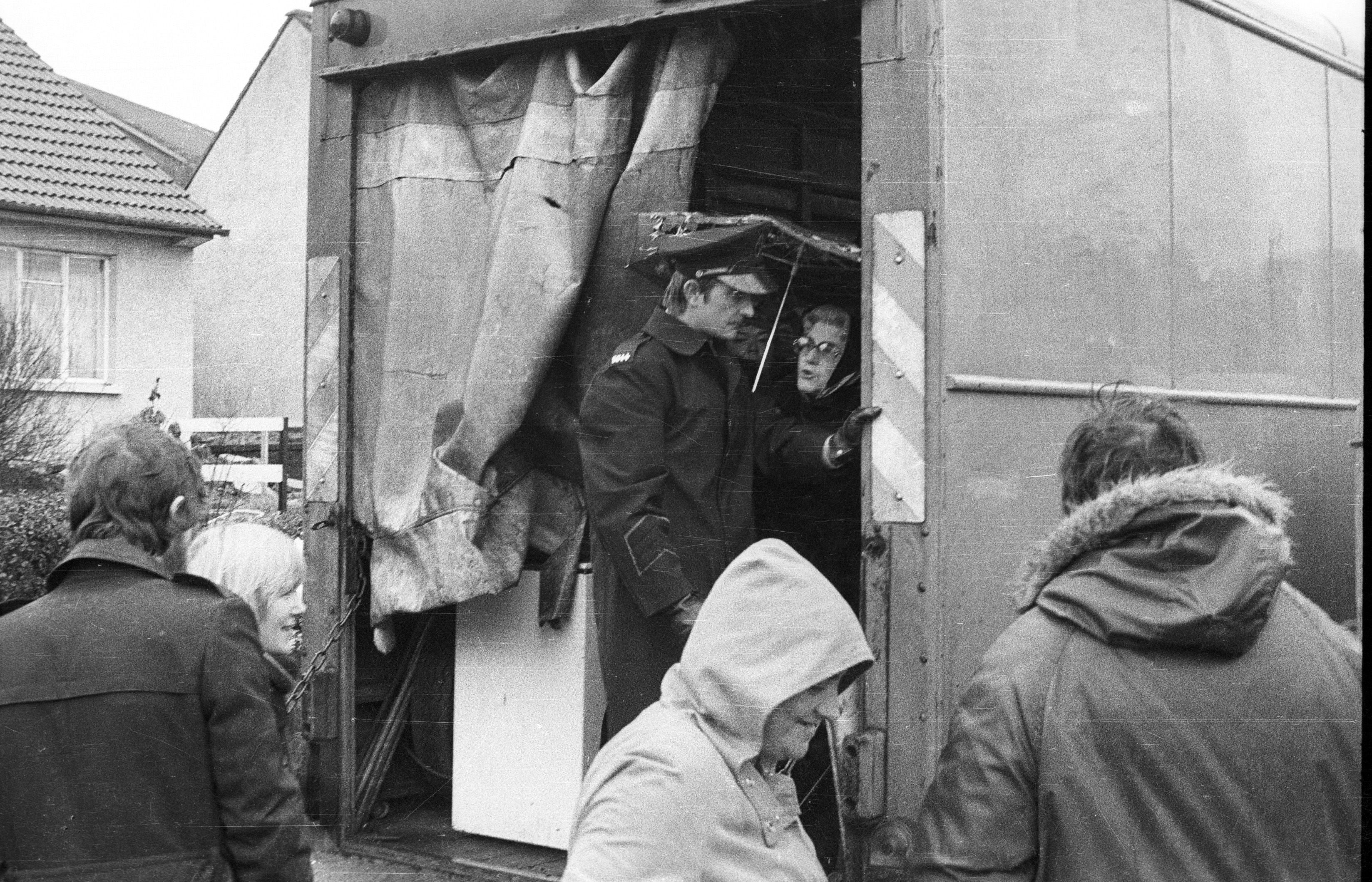 PEOPLE POWER: The RUC are prevented from evicting the Ward family