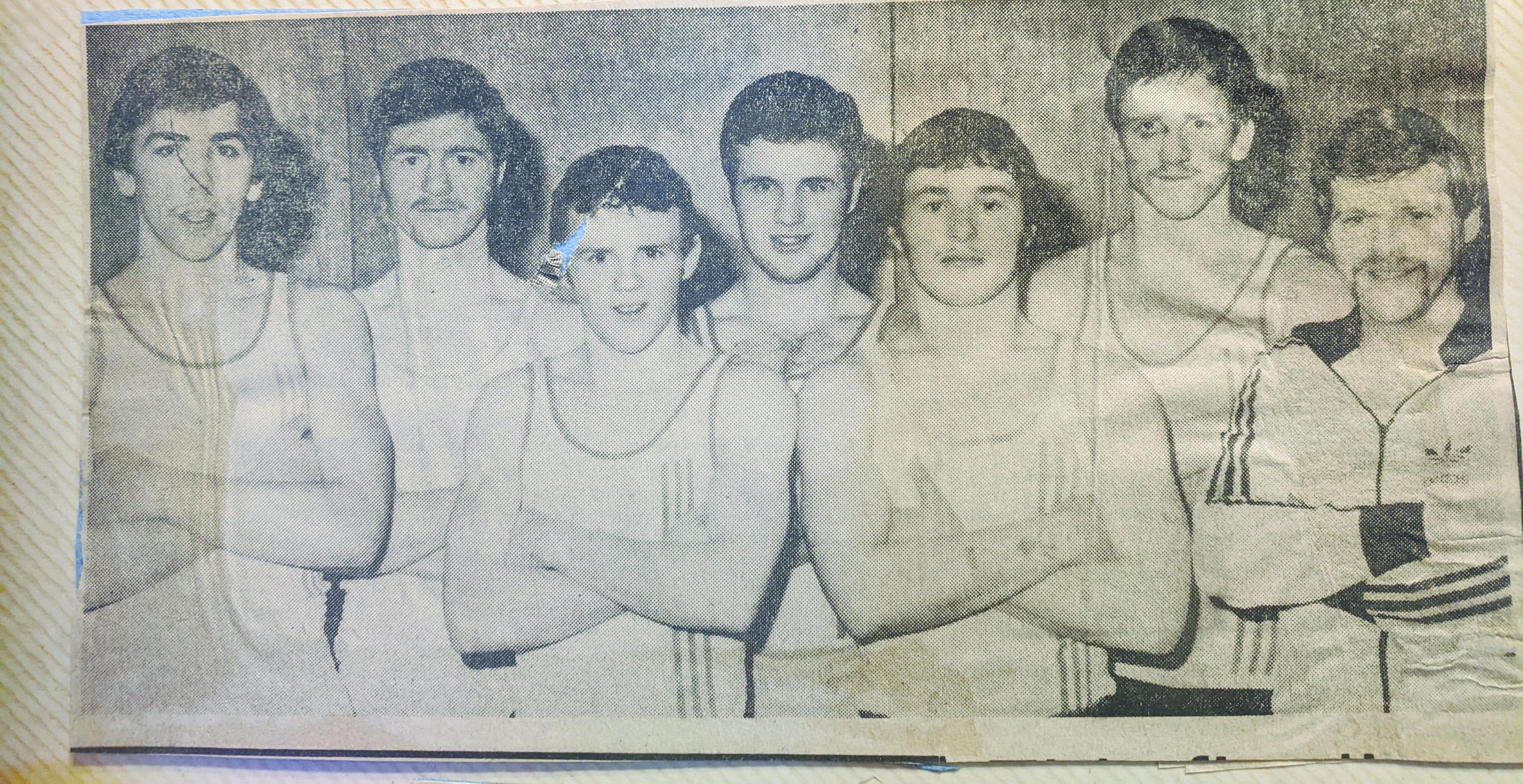 David Irvine, Douglas Adams (formerly Corpus Christi, Cecil\'s son), Gerard Hawkins, Raymond Bell (formerly Corpus Christi), Damien Fryers, Micheal Moylan and Michael Hawkins