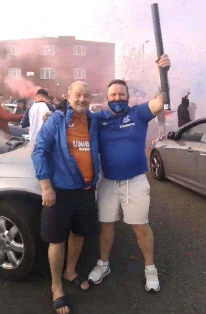 THE COVID 2: Jim Wilson and George from the Shankill