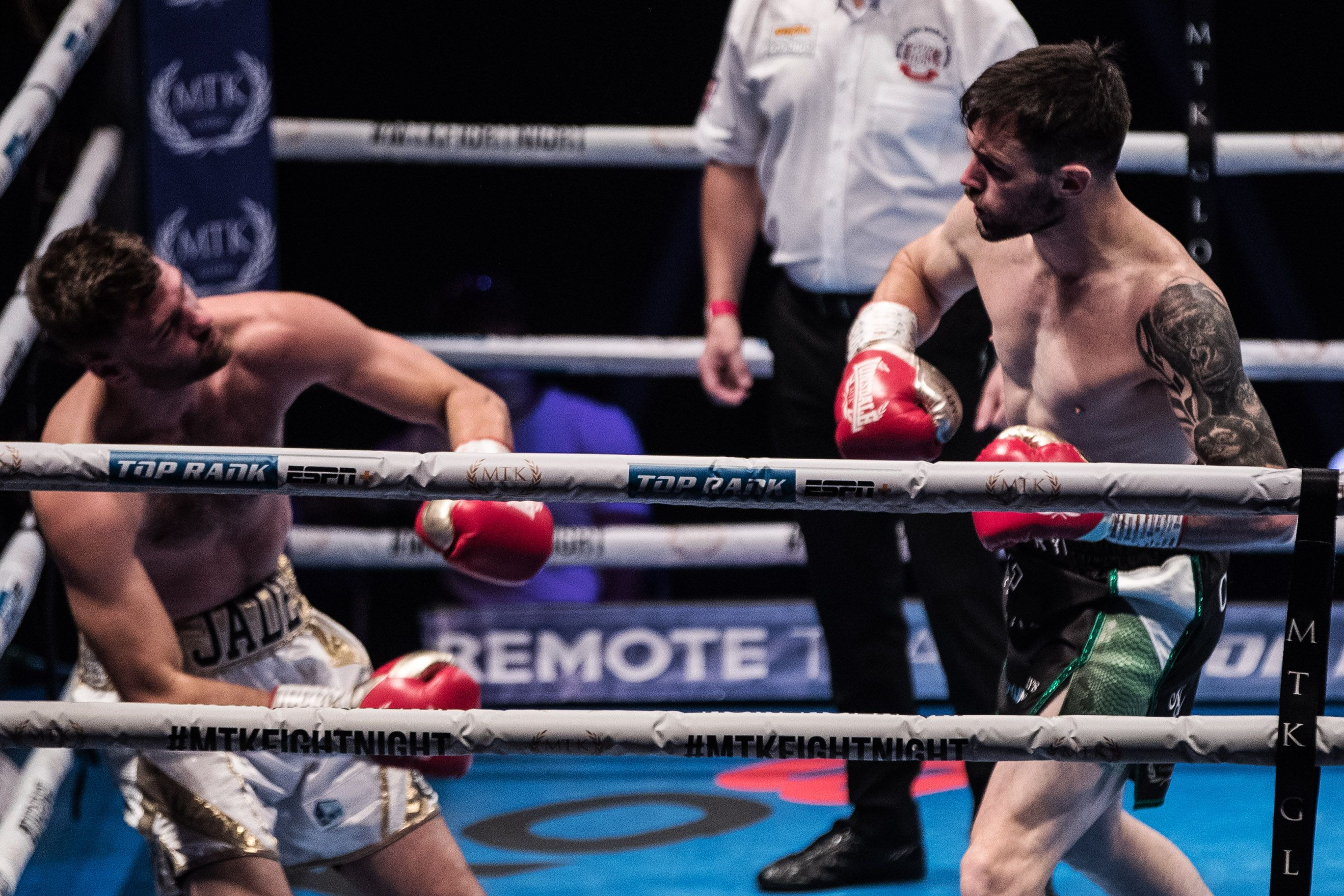 Padraig McCrory had been going to build on his impressive victory over Mickey Ellison in September