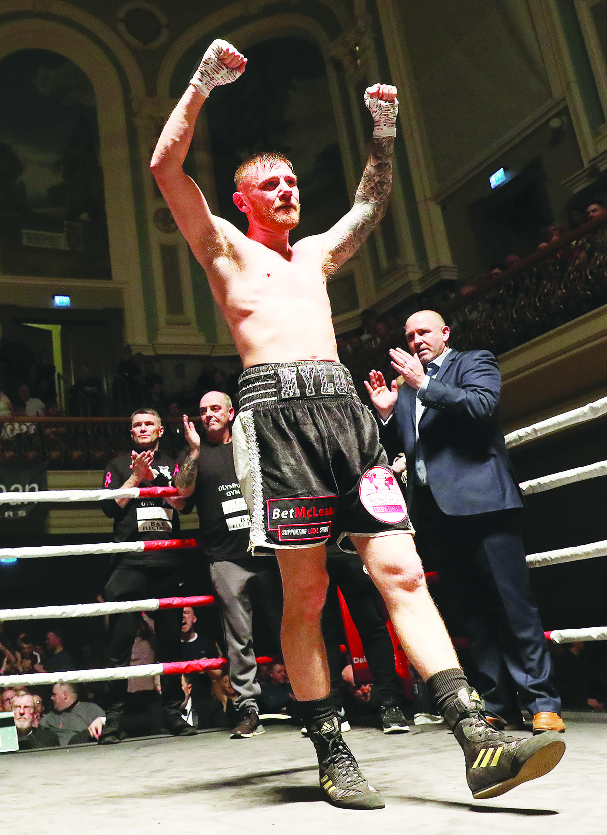 Paul Hyland says he is mentally and physically ready for Friday's British lightweight title fight