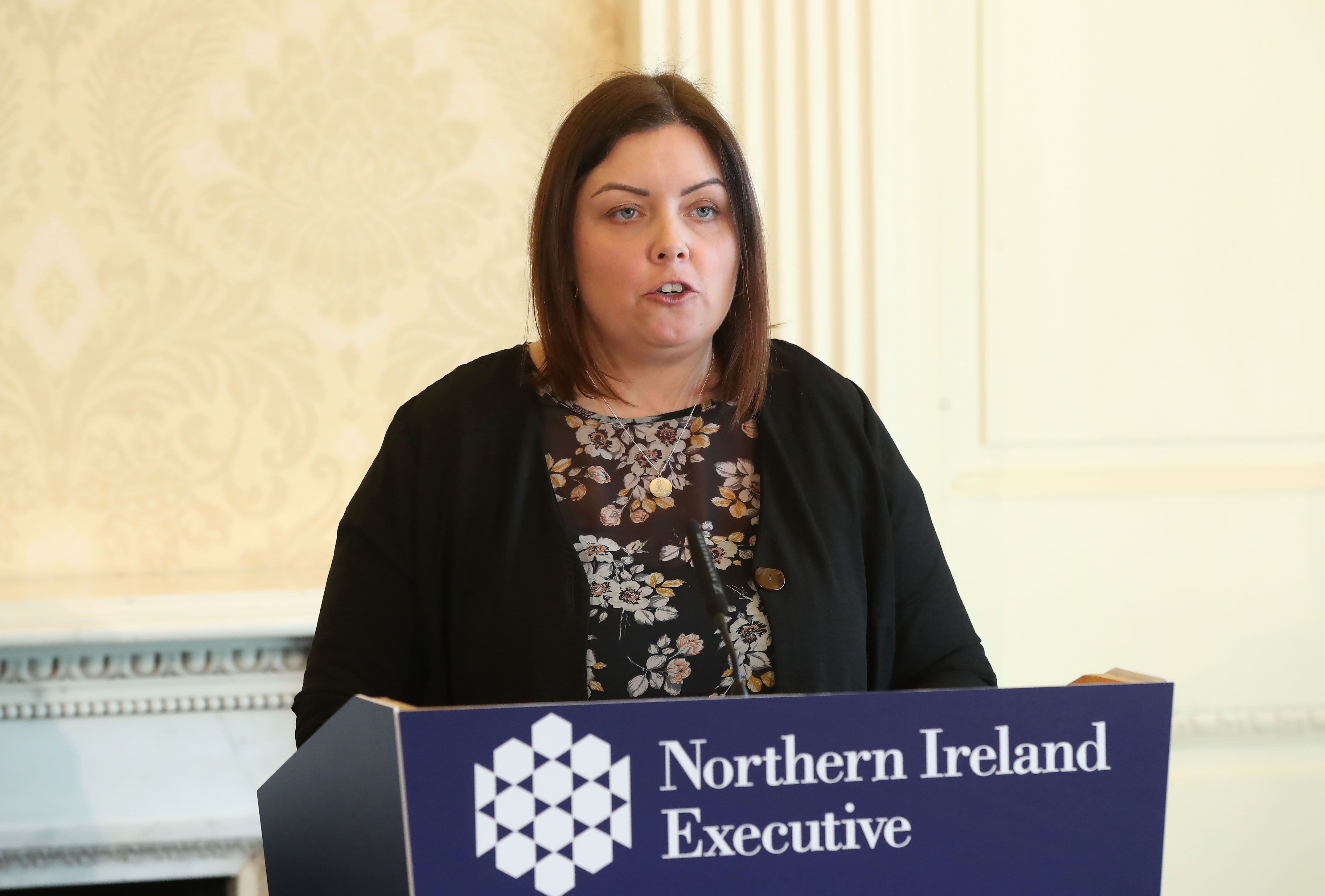 Communities Minister, Deirdre Hargey, has welcomed the announcement