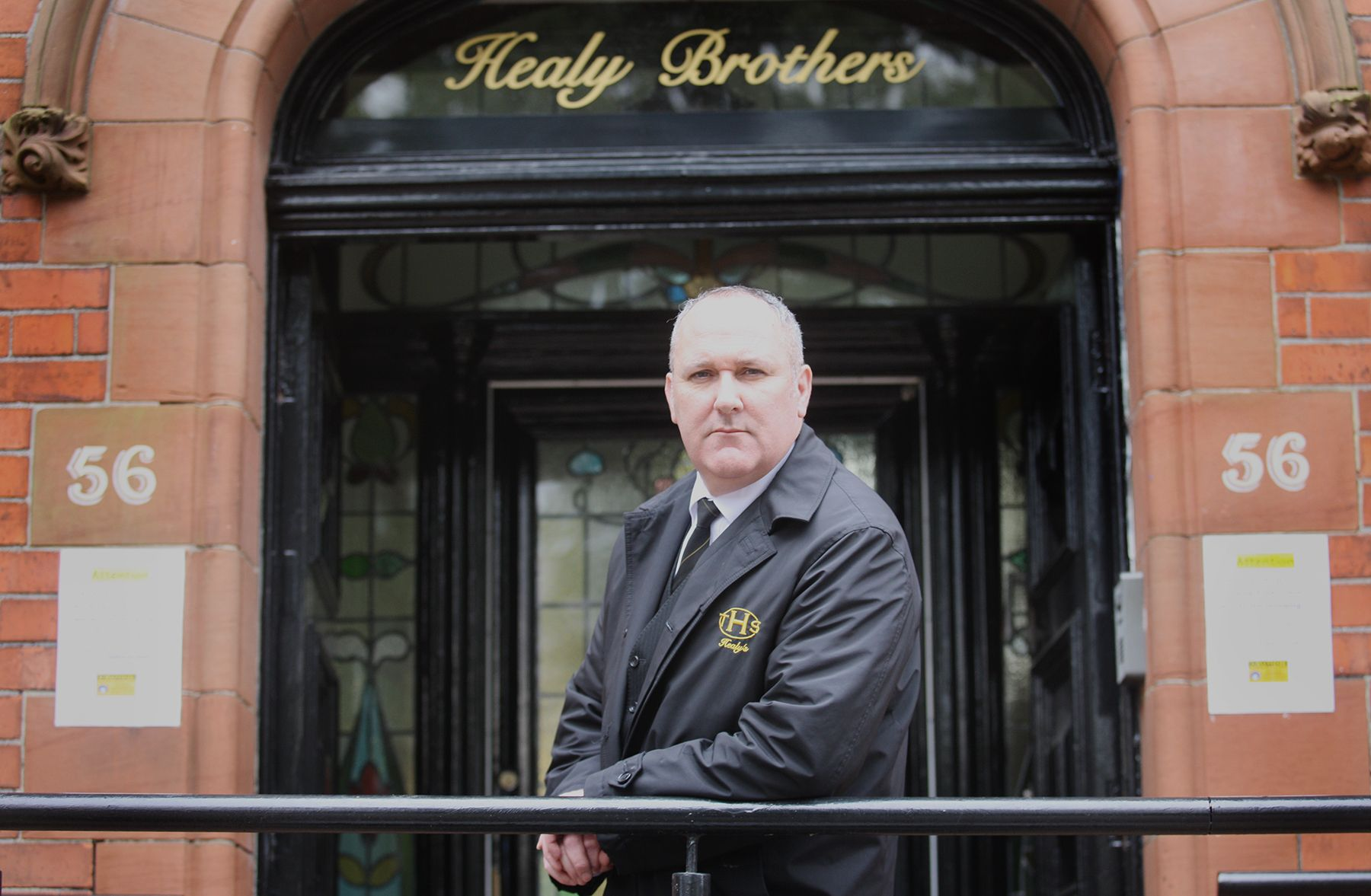 FUNERAL CONCERNS: Undertaker Sean Healy from Healy Brothers
