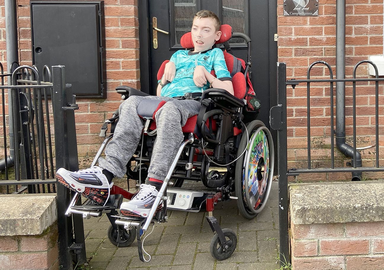 A HELPING HAND: The £15,000 target to get Pearse for treatment is getting closer every day