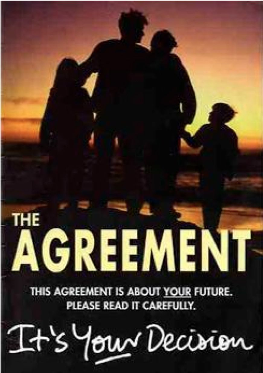 MORE PLANNING NEEDED BEFORE UNIFICATION: The Good Friday Agreement