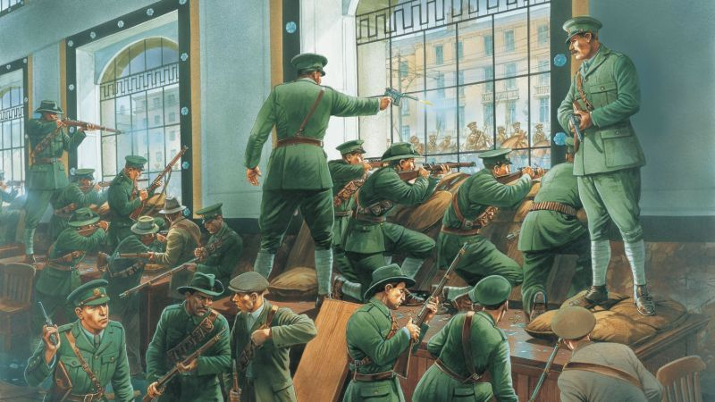 GPO: The leaders of the Easter 1916 Rising  knew the price they would pay, but also knew their deaths would carry powerful echoes