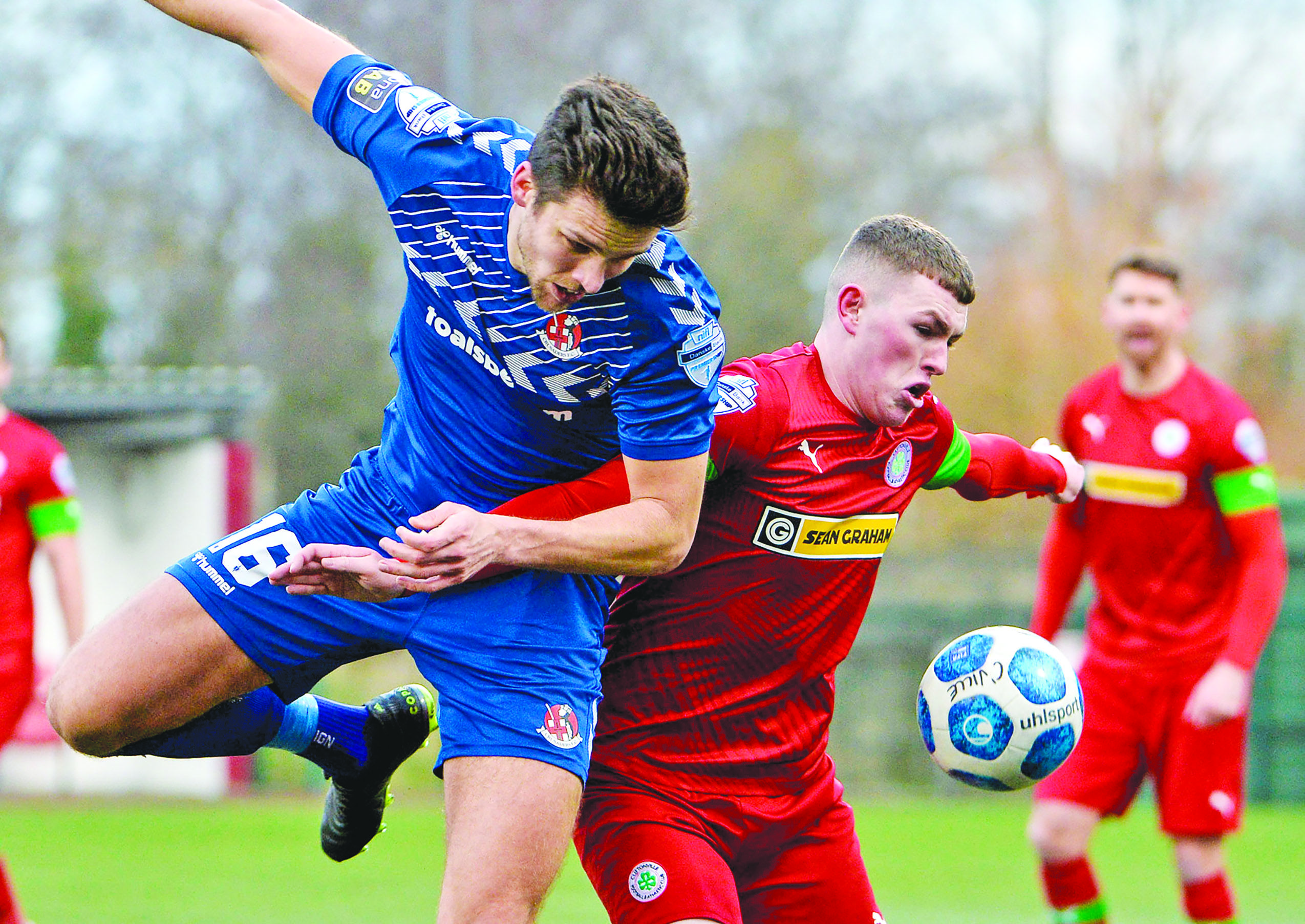 Cliftonville and Crusaders played out a 1-1 draw when they met back in January
