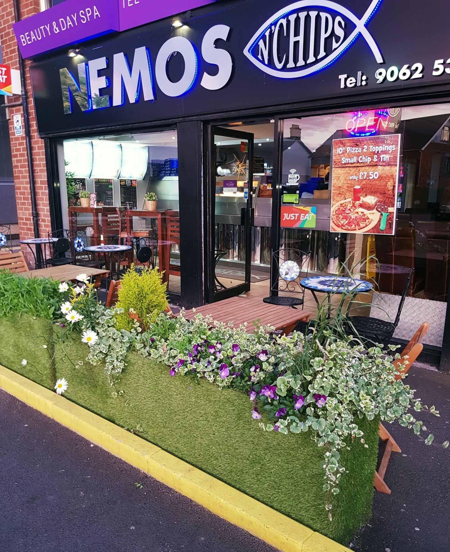TASTY FARE: Nemo\'s will welcome back customers to outdoor seating from 26 April