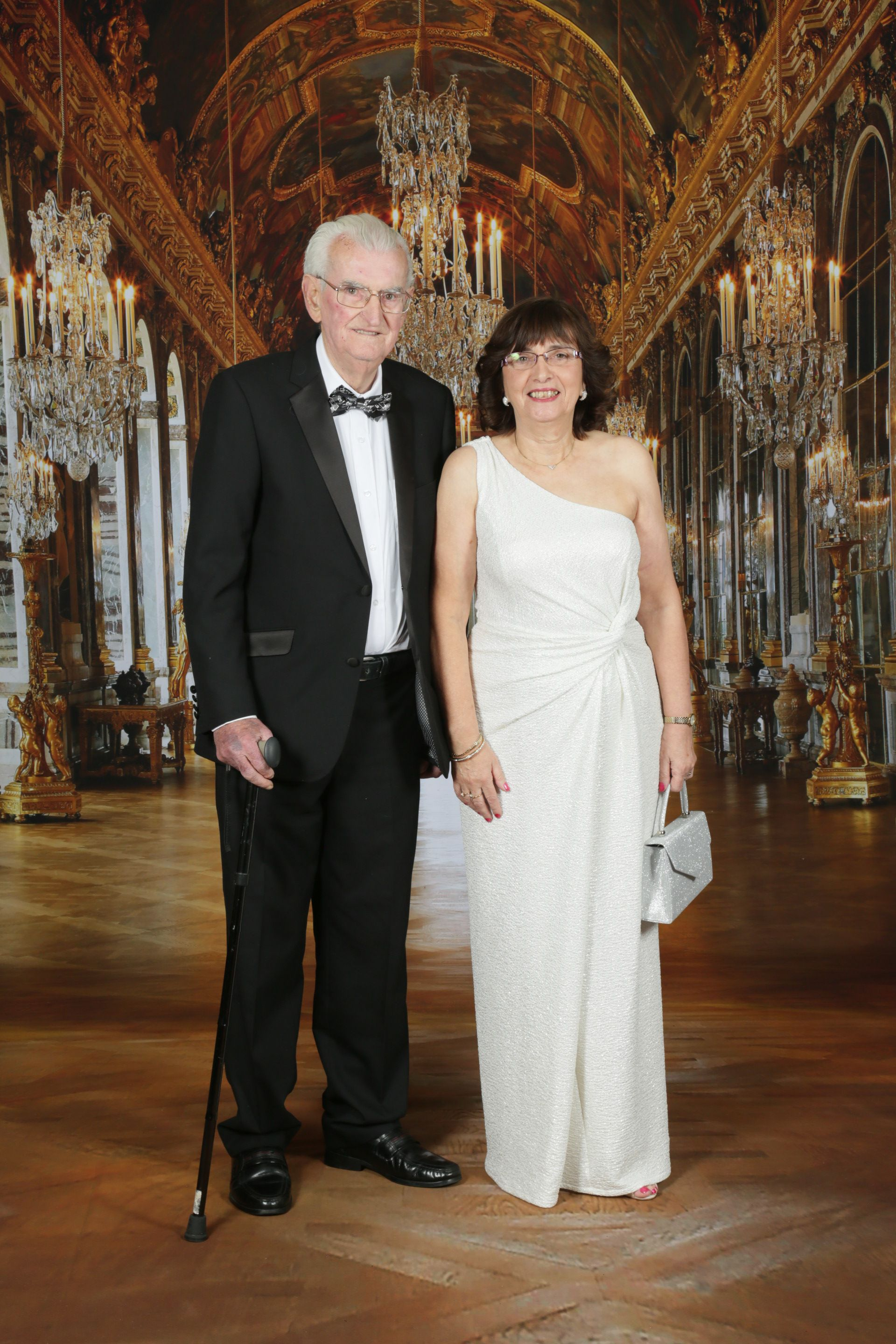 LEGACY:Tony Gilmore, founding and life member of St Agnes', along with his daughter Catherine, who is also a life member of the company, together at the St Agnes' Choral Society 60th Anniversary Ball in November 2016