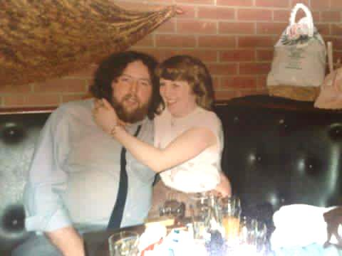 JUSTICE PLEA: Mickey and Roseann. Gunned down in 1992, Mickey Gilbride would have been 65 today, 14 April 2021.