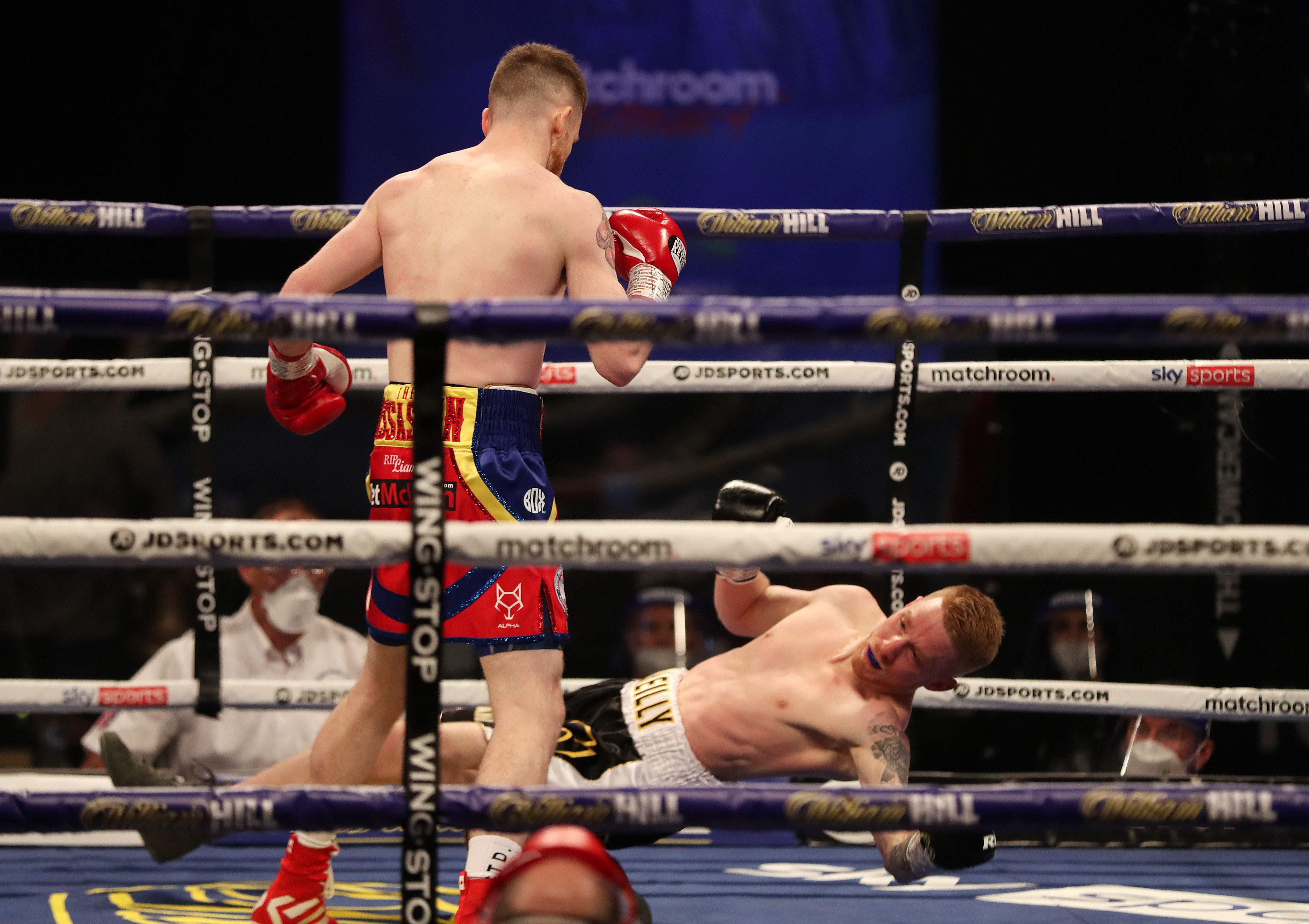James Tennyson demolished Josh O\'Reilly in one round last time out