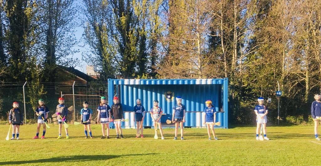 Camogie training took place at De La Salle Park for the first time on Wednesday