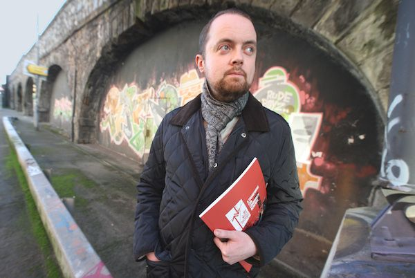 OPPOSING APARTMENTS\' PLAN:Fionntán Hargey of the Market Development Agency