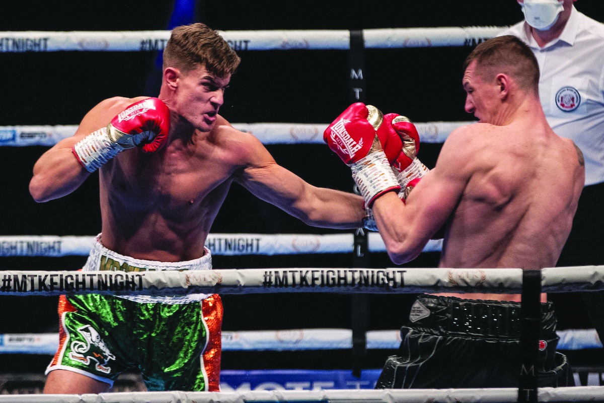 Paul McCullagh Jnr stopped Ben Thomas in his professional debut last October