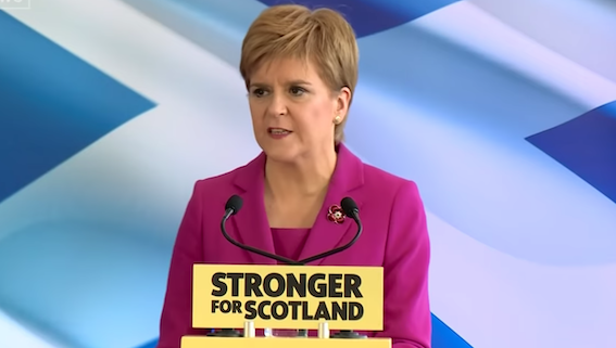 MAJORITY BID: SNP leader Nicola Sturgeon