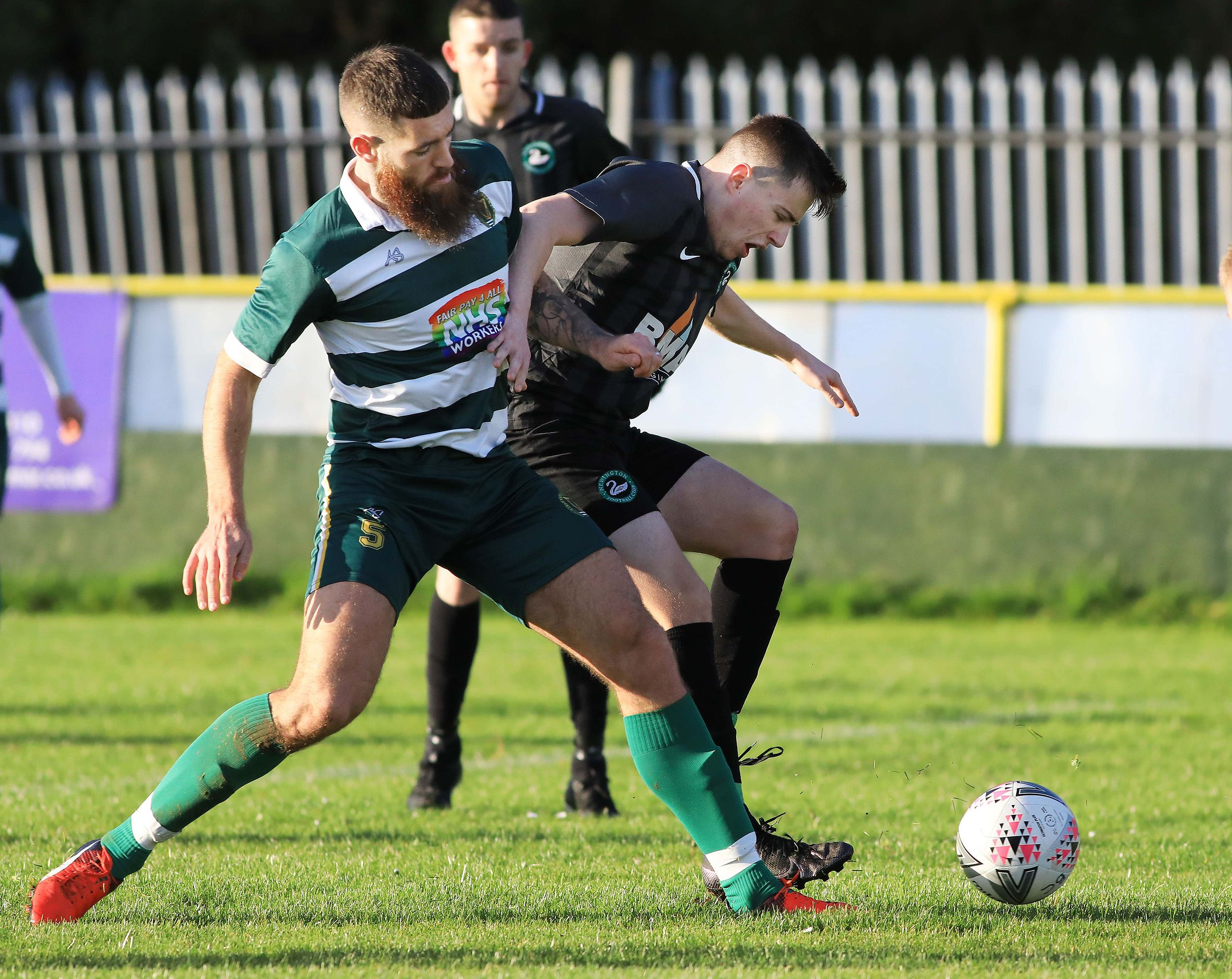 Belfast Celtic will be without captain Mark Clarke, pictured in action against Newington, for next Tuesday's Irish Cup clash against Carrick Rangers while Padraig McParland and Brendan Shannon are also set to miss out