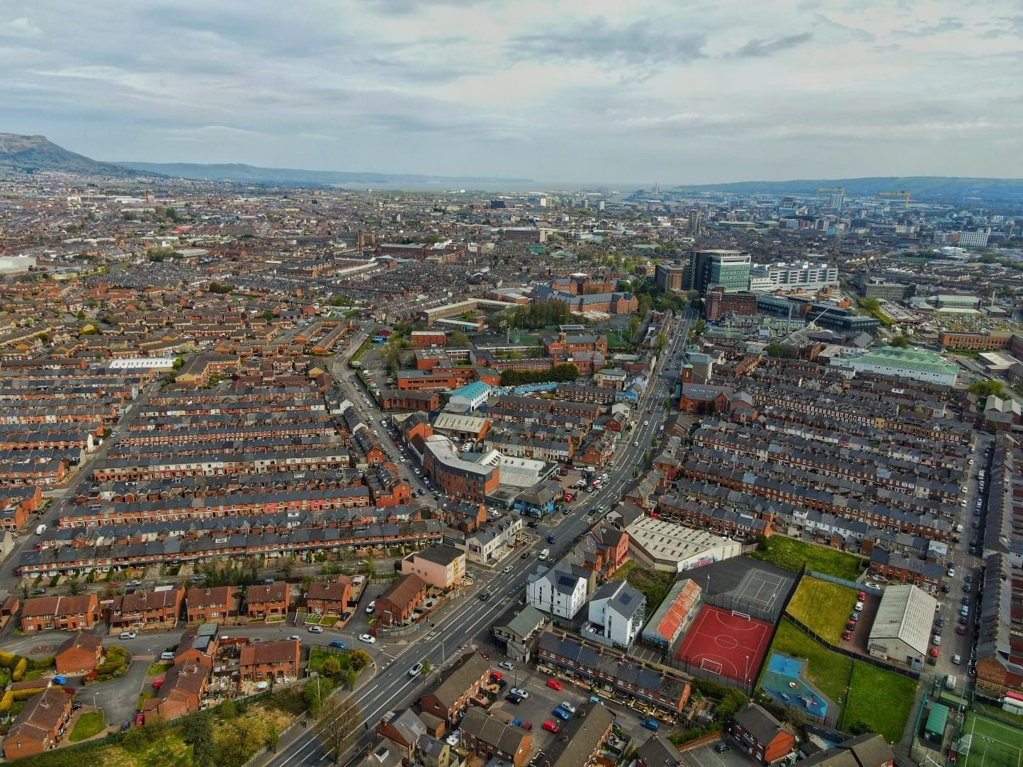 PRICES SOARING: The cost of a home is up on average by seven per cent in Belfast since the pandemic began.
