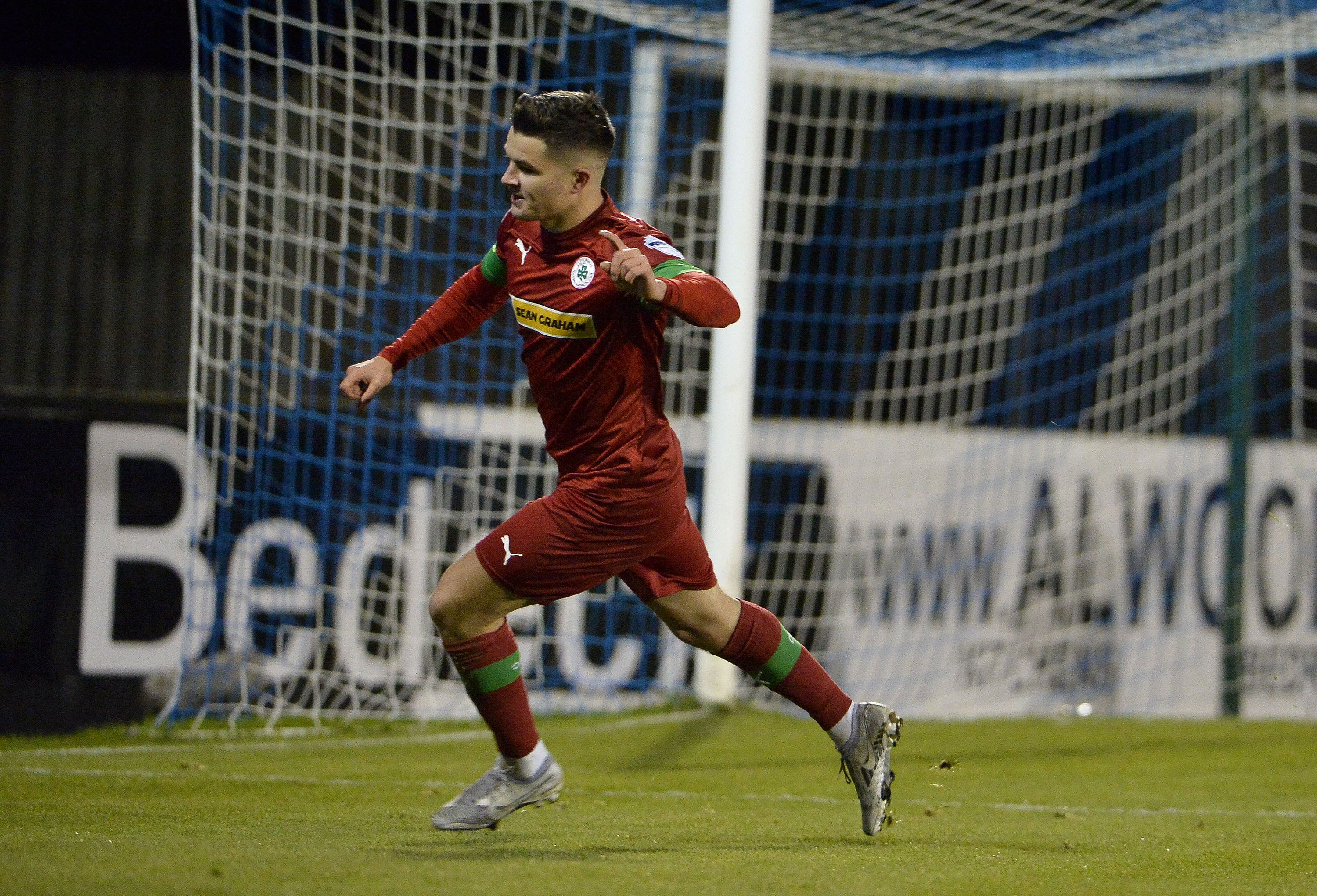 Daire O\'Connor found the net twice during Cliftonville\'s win