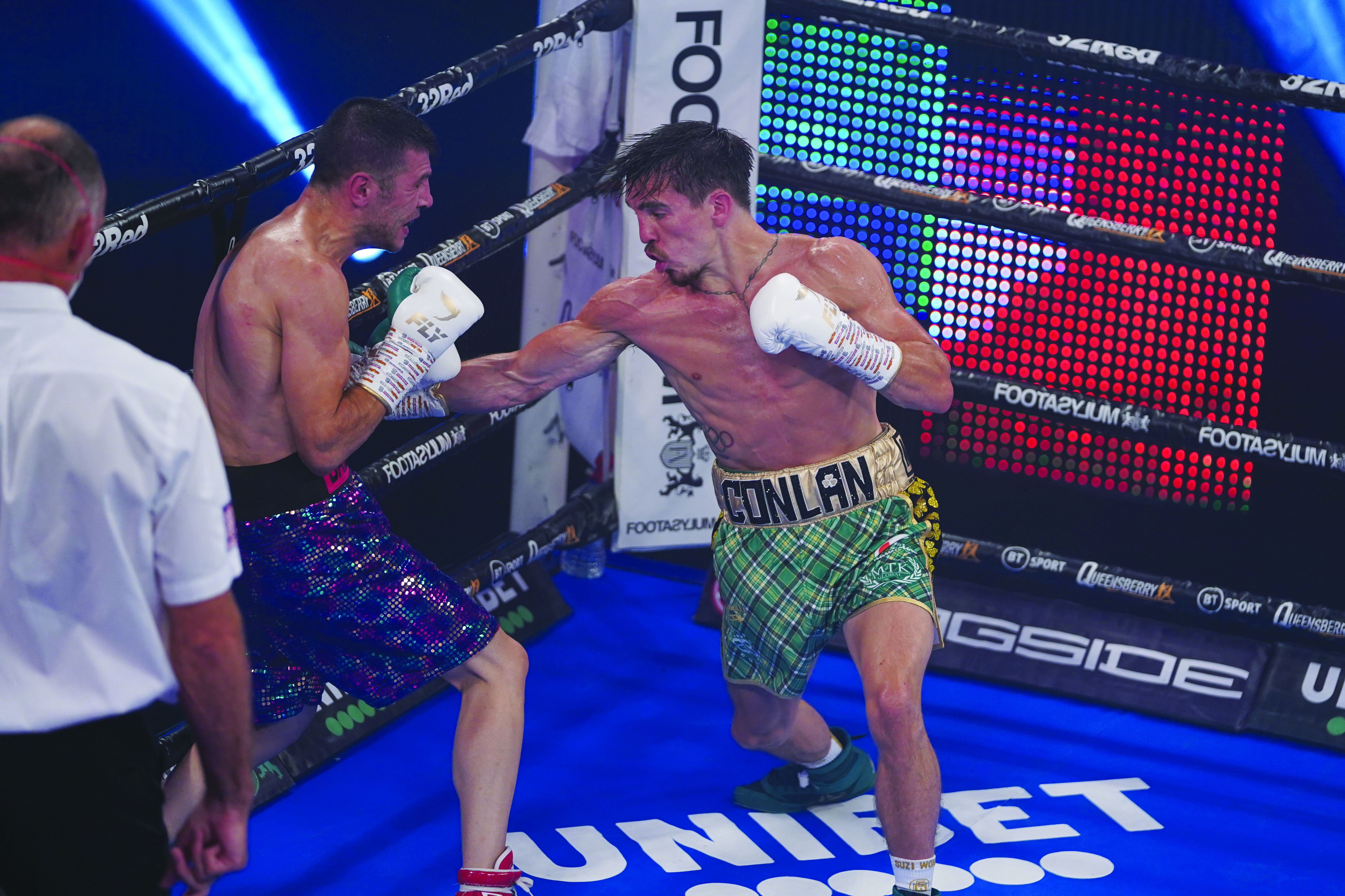 Michael Conlan impressed against Sofiane Takoucht last time out