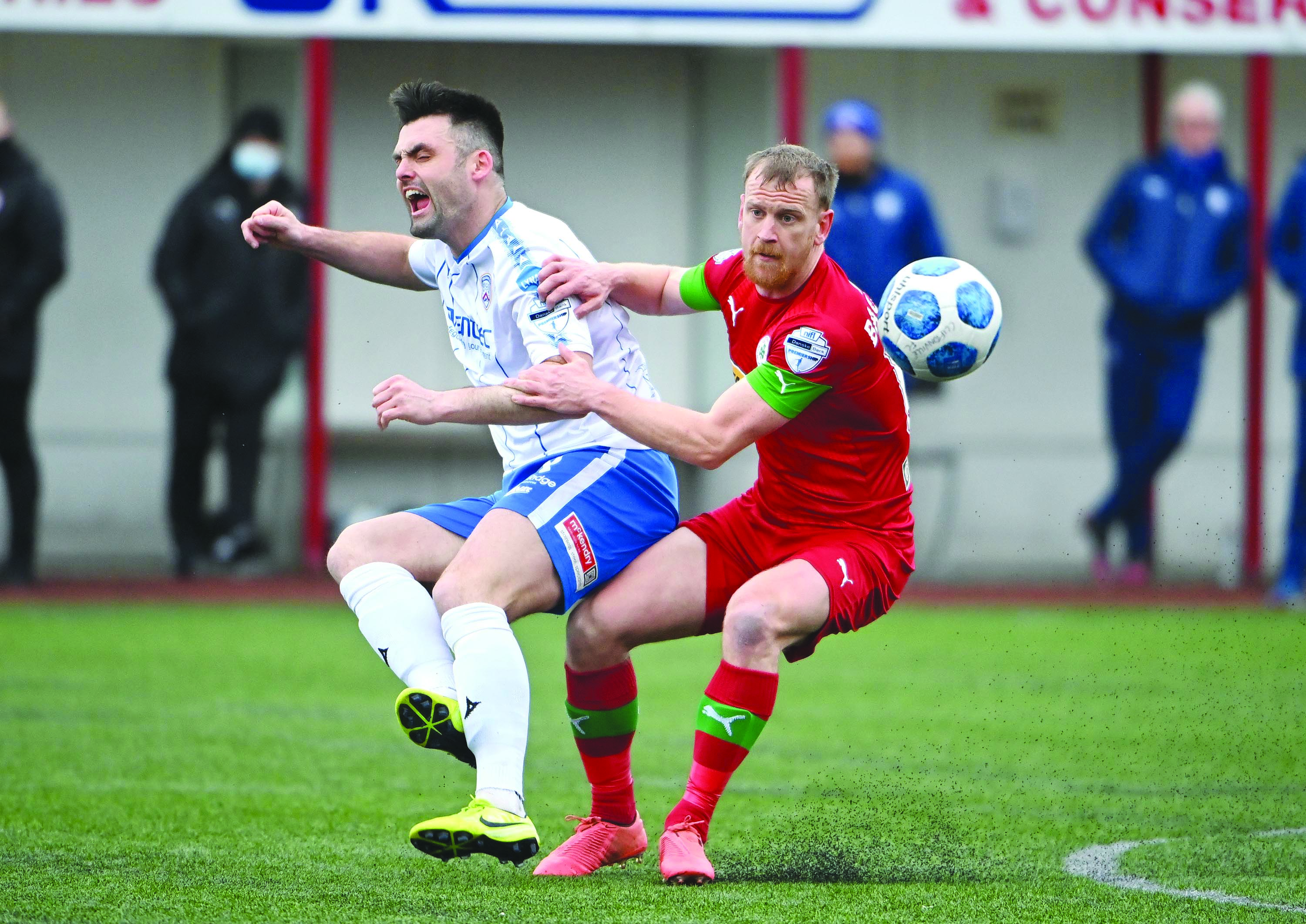 Liam Bagnall is in line to return to the Cliftonville team having been left out as a precaution against Portstewart