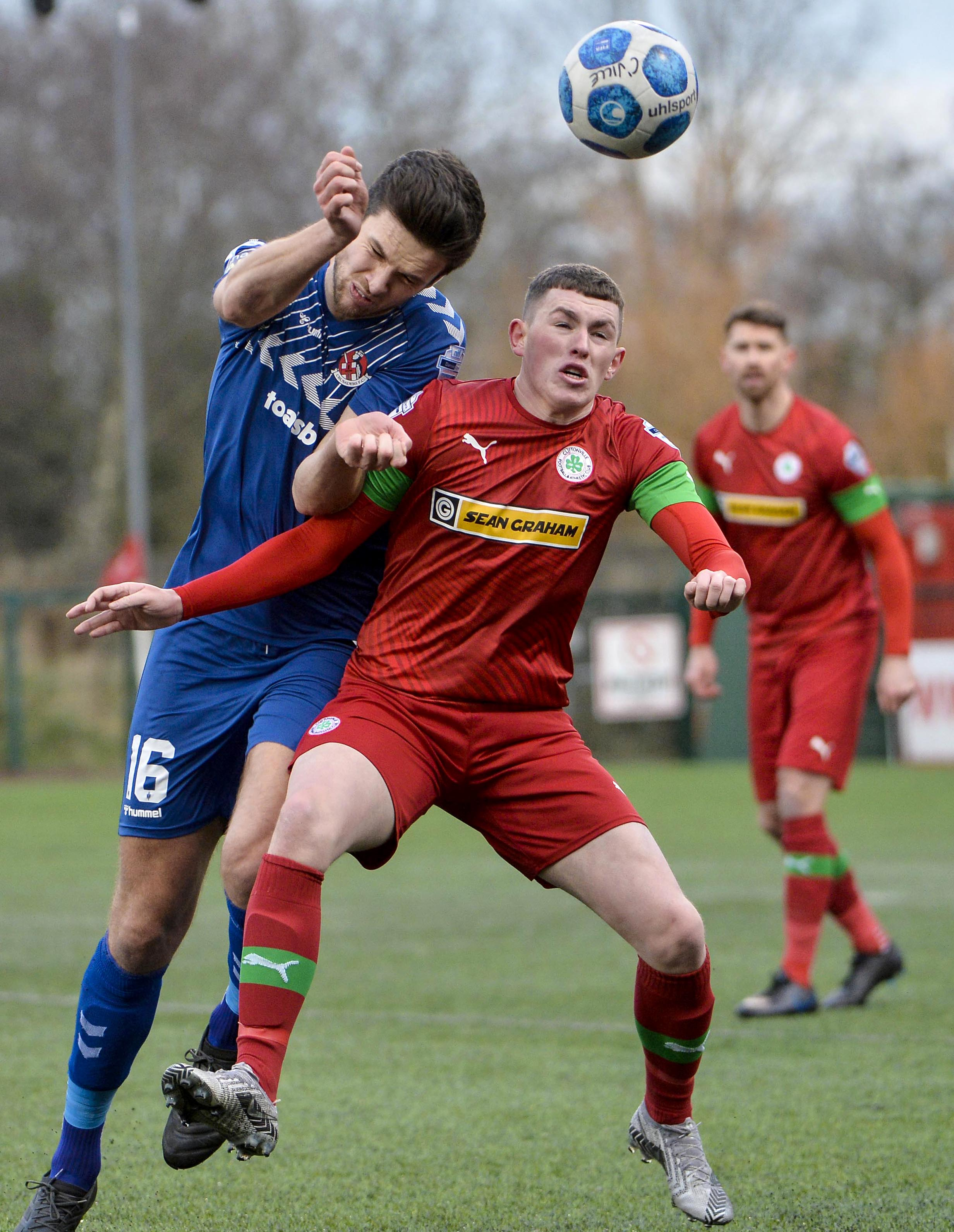 Cliftonville and Crusaders meet once again this evening with The Reds west to get the better of their North Belfast rivals this season