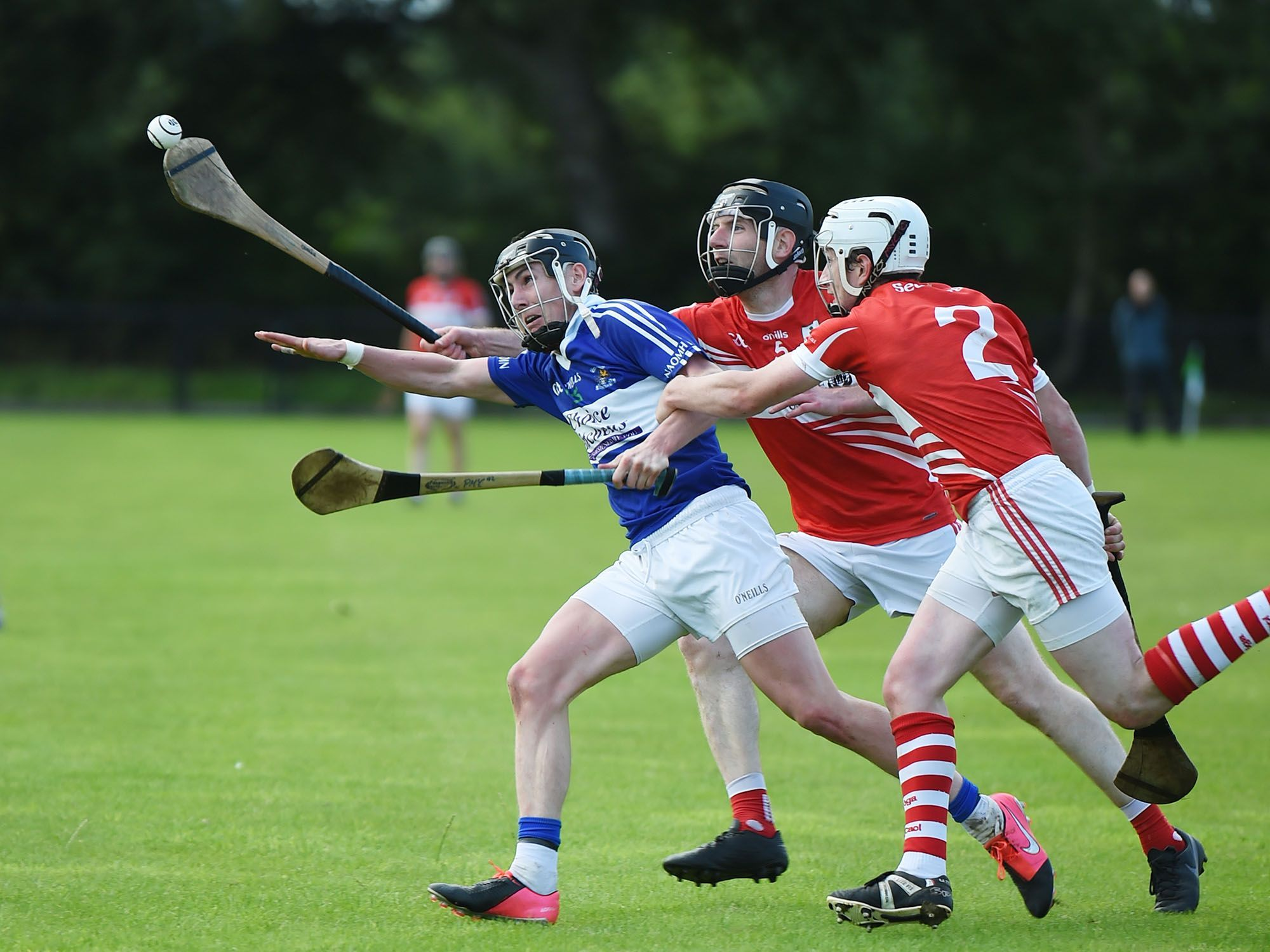 Peter McCallin is one of three St John\'s players who are newcomers on the Antrim hurling squad this year