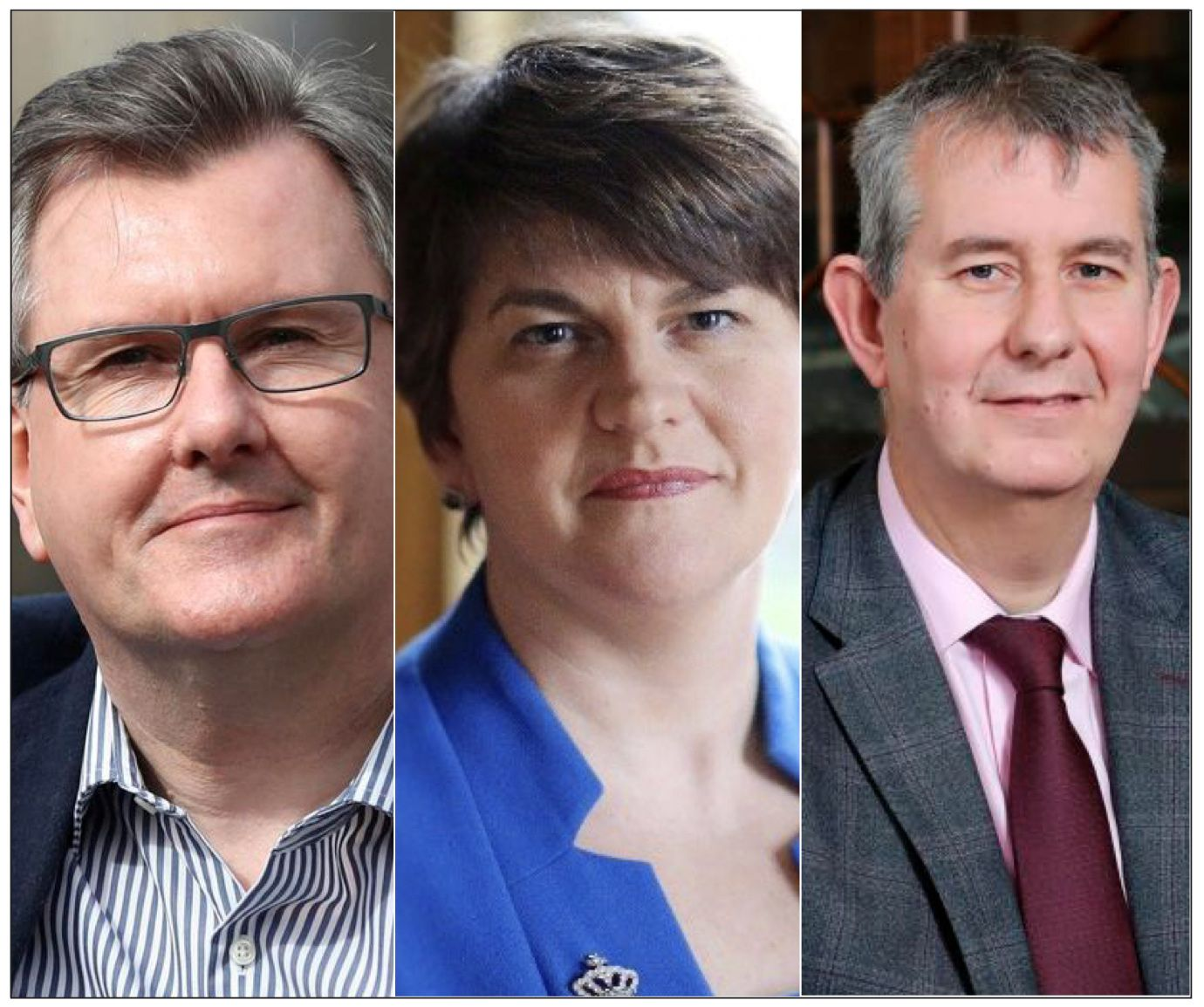 Jeffrey Donaldson and Edwin Poots are in the running for DUP leader when Arlene leaves