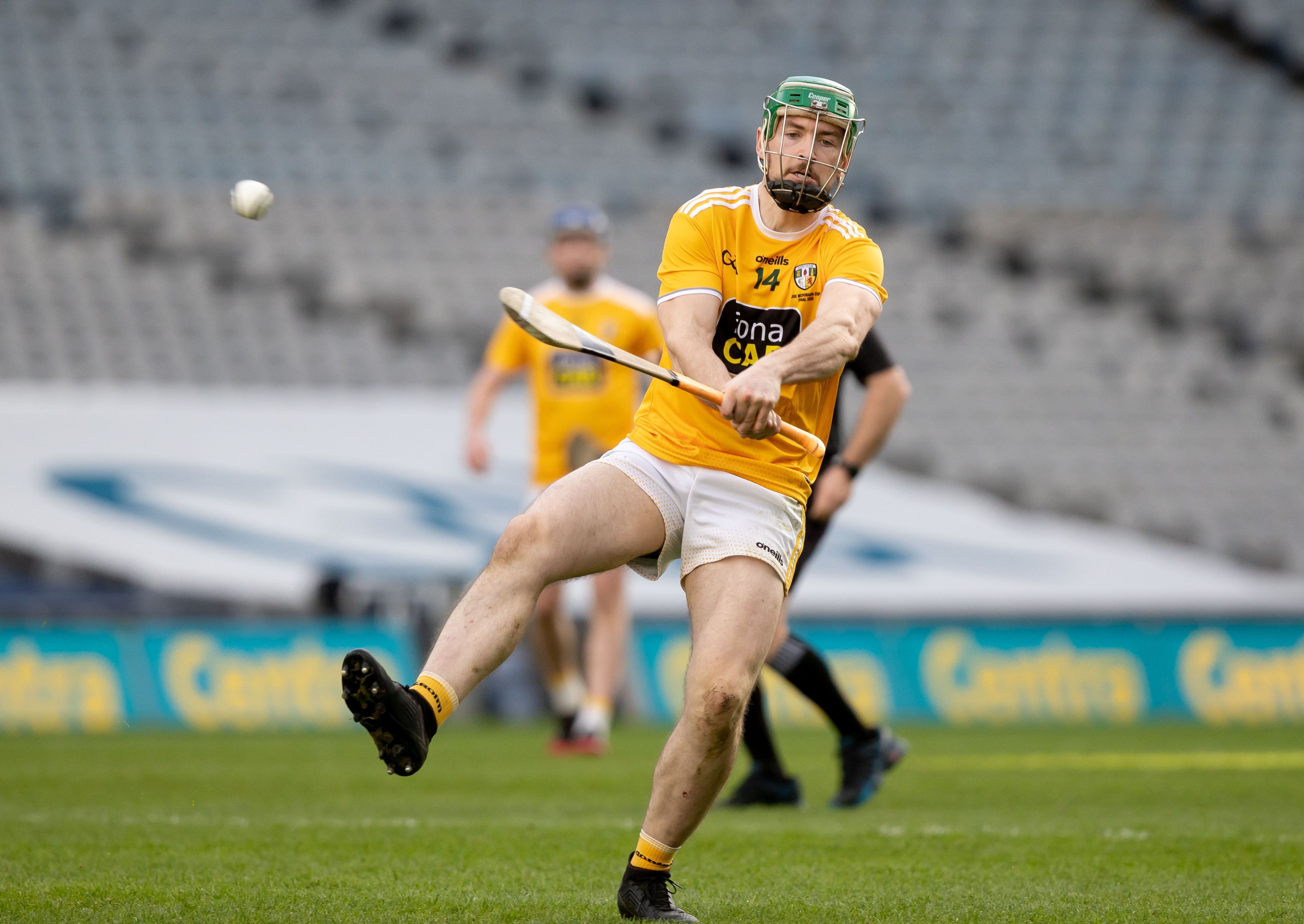 Antrim hurling captain Conor McCann says he and his team-mates are relishing the challenges ahead