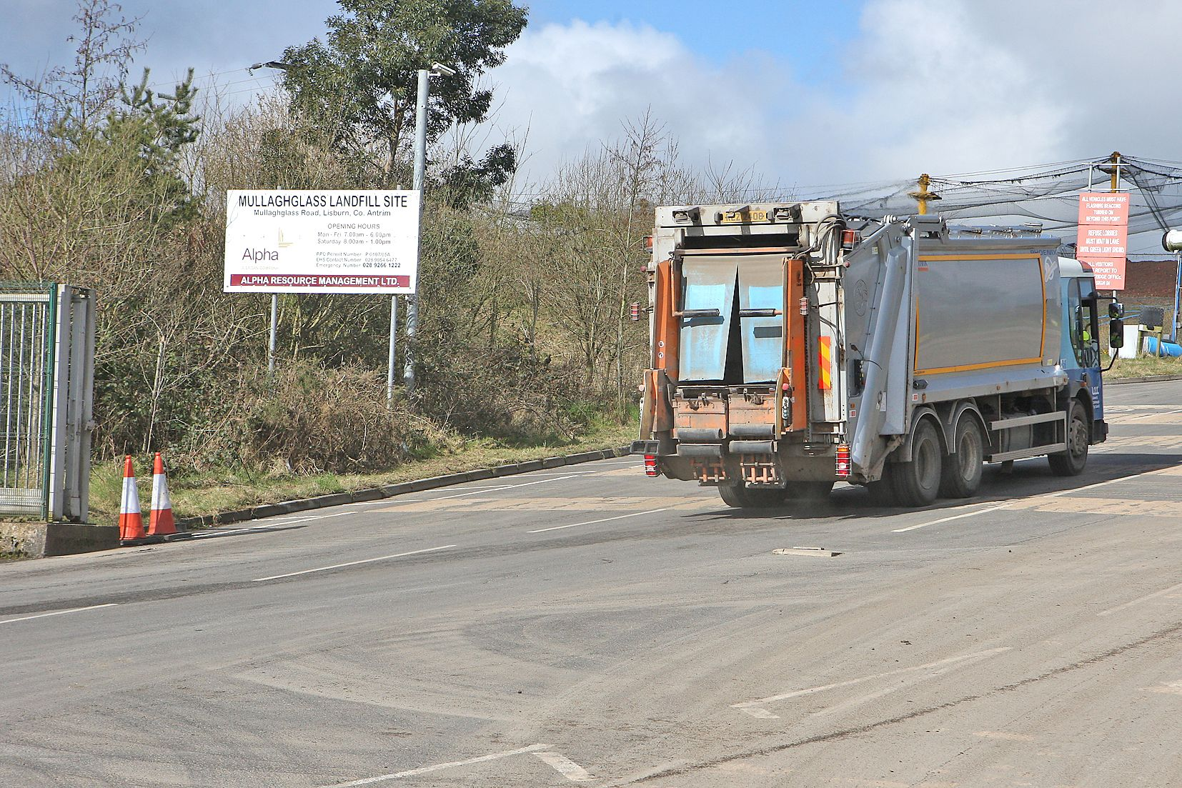 ACTION: Belfast City Council have served an Abatement Notice on the owners of the Mullaghglass landfill site