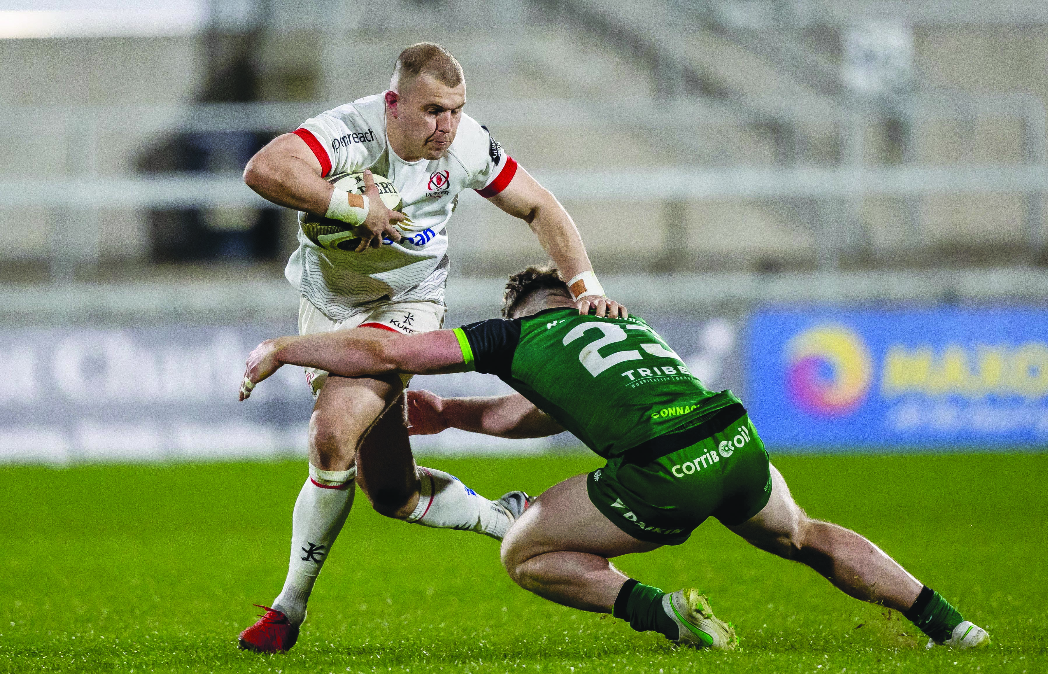 Will Addison is selected at centre for Friday's trip to Munster in what will be his first start of the season having battled back from a long-term back injury