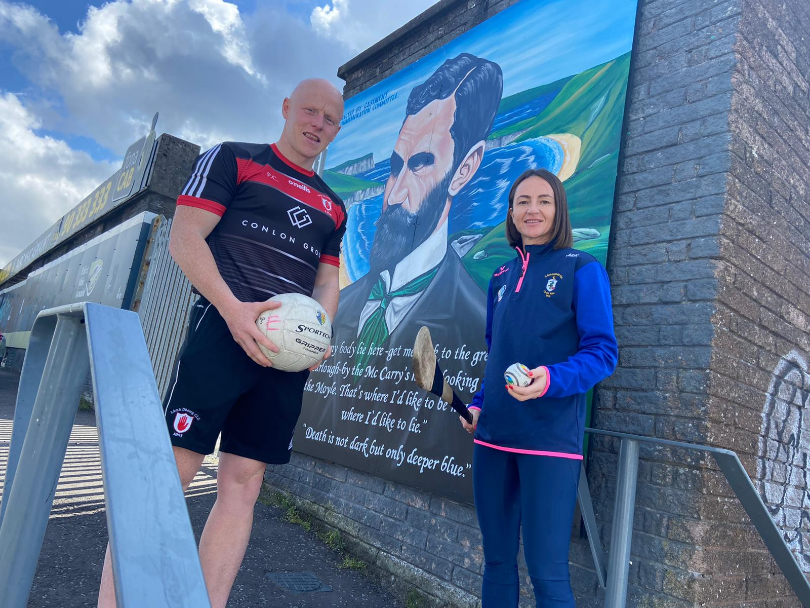DEBATE: Paddy Cunningham and Jane Adams hope their letter leads to greater debate within the GAA community