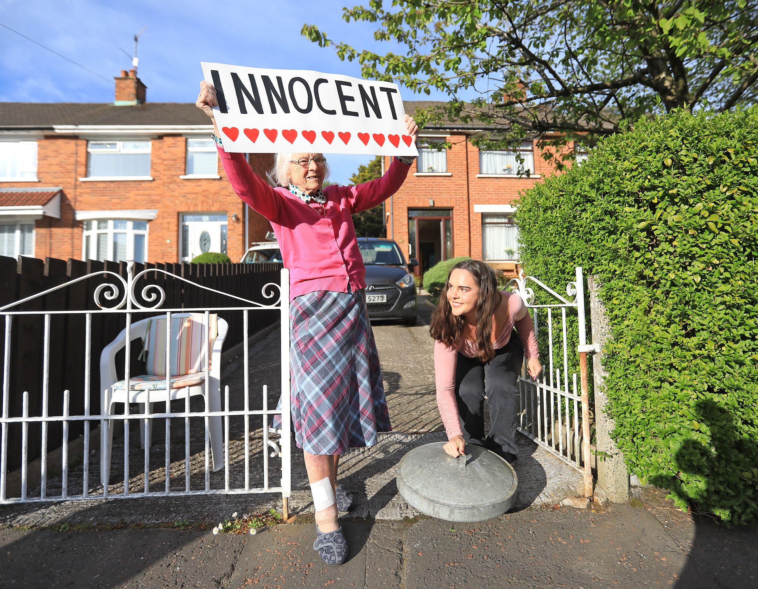 INNOCENT: Jubilant Ballymurphy residents on hearing the Coroner\'s verdict on Tuesday