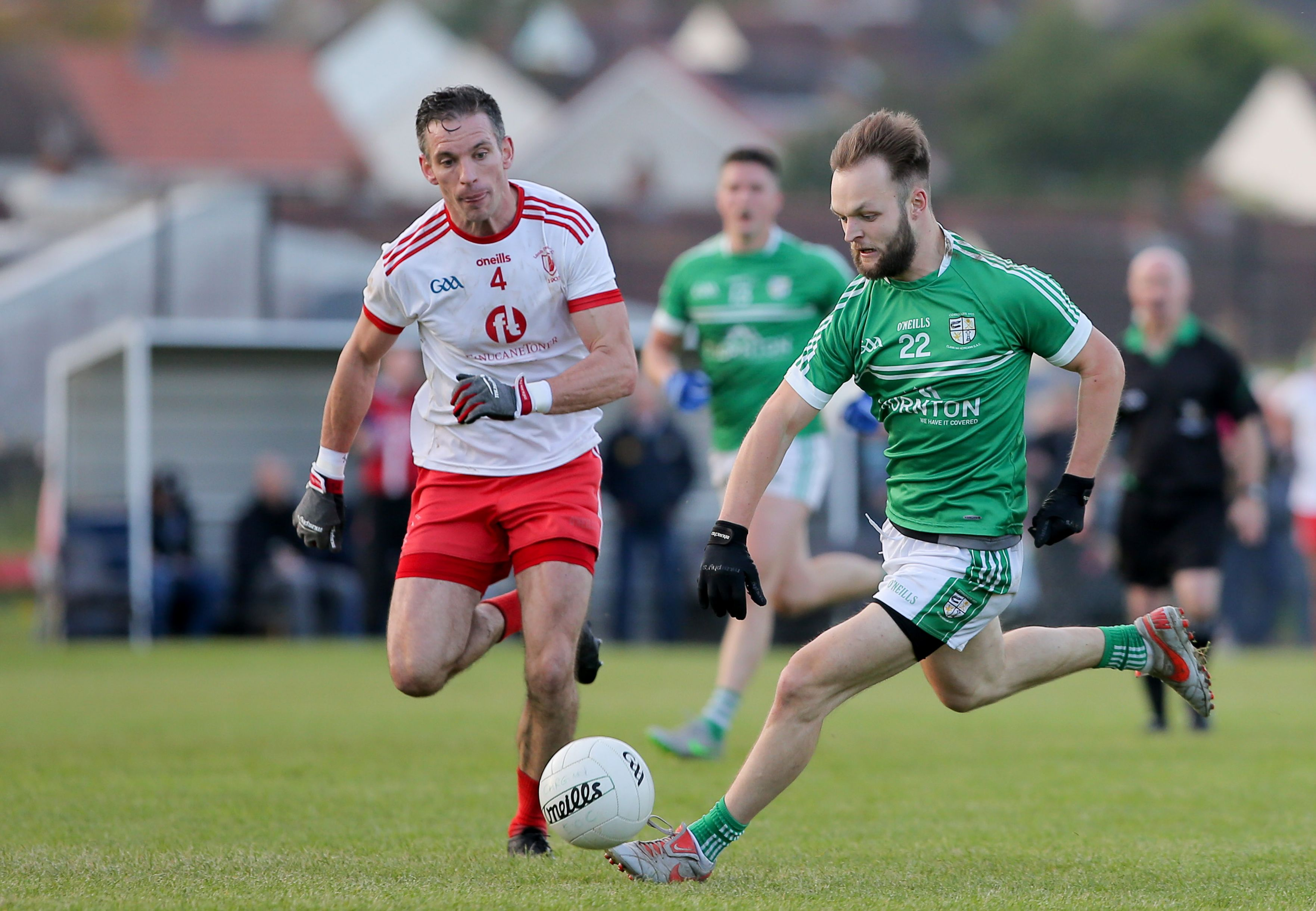 The game at Hannahstown between Lámh Dhearg and Cargin on Sunday will be streamed live by PaircTV at 5pm