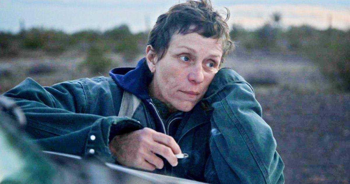 TAKING STOCK: Frances McDormand in Nomadland